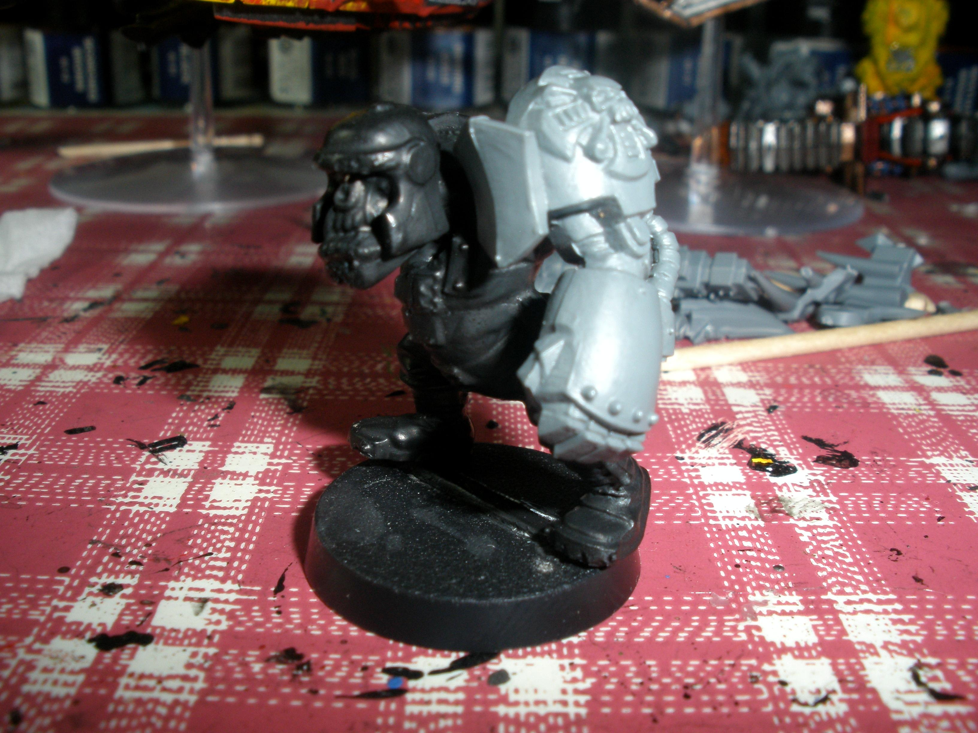 Ork with Power Fist
