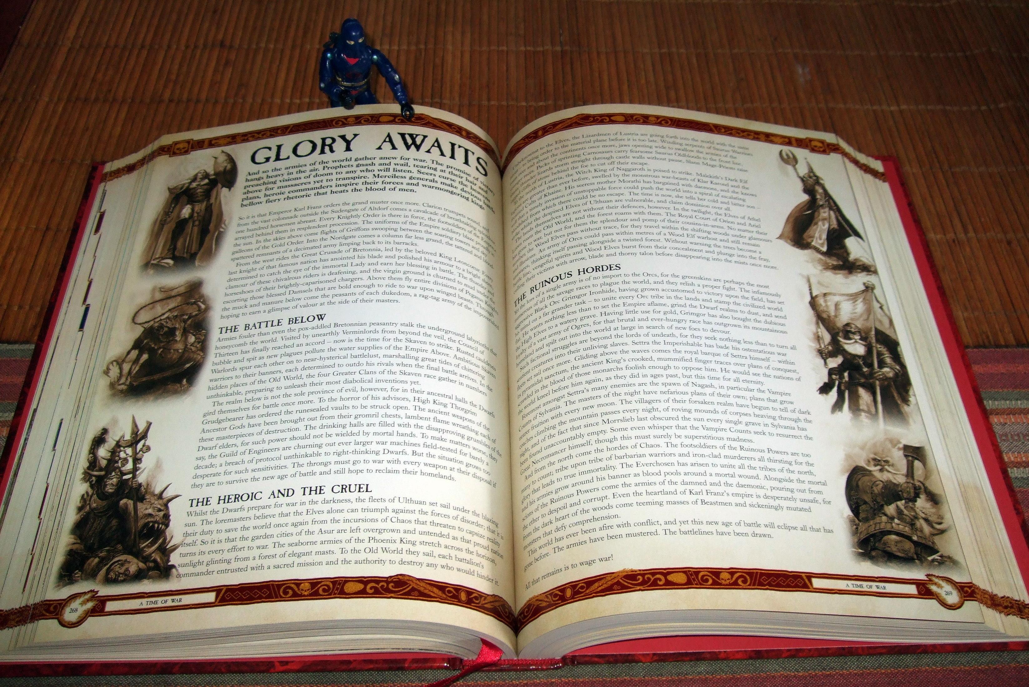 8th Edition, Glory Awaits, New, Reads, Rulebook, Warhammer Fantasy