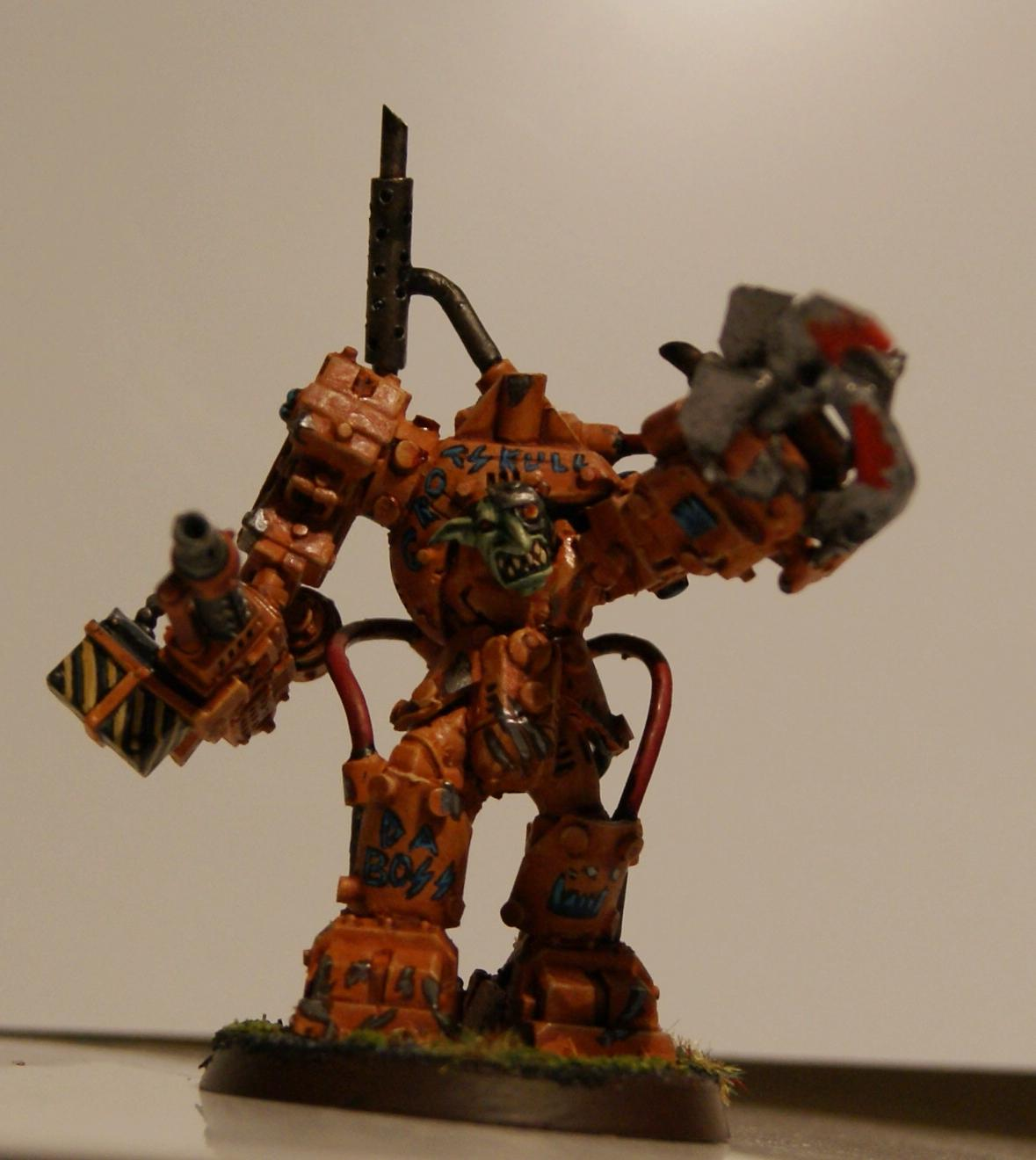 Conversion, Grot Rebellion, Grot Rebels, Grots, Orks, Warboss, Warhammer 40,000