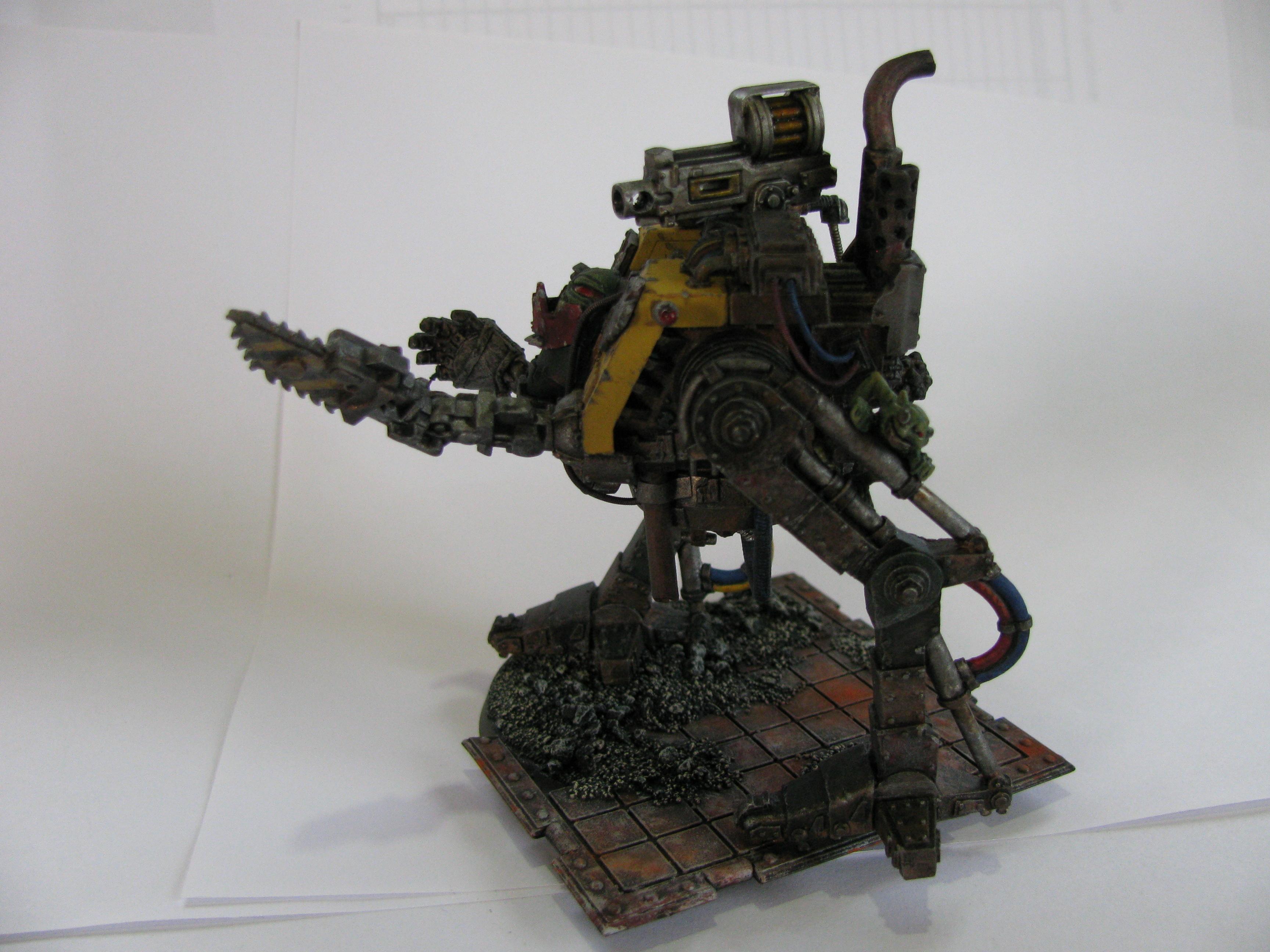 Bionik, Conversion, Cyborks, Dreadnought, Orks