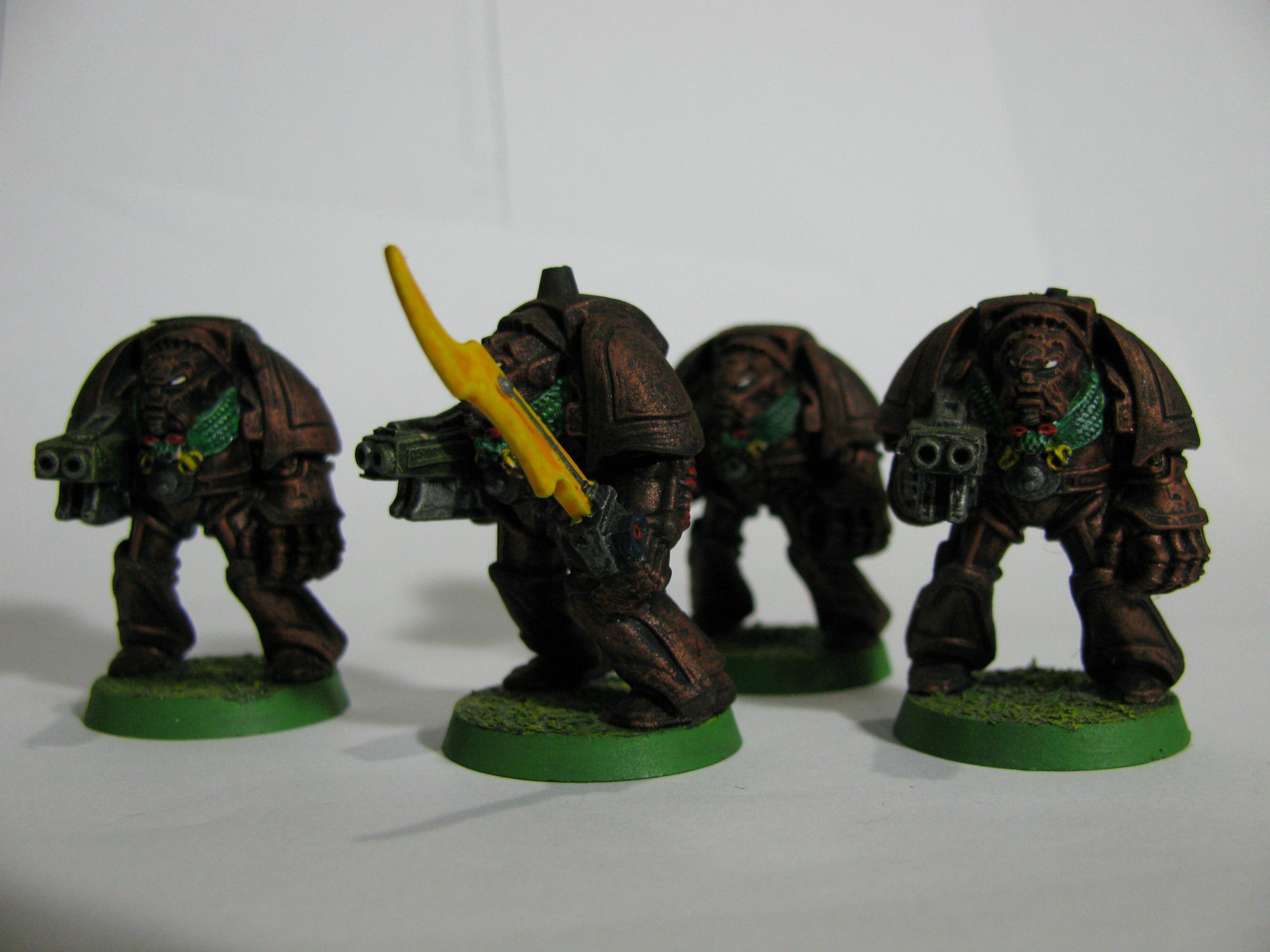 Crusaders Penitent, Old School, Space Marines, Warhammer 40,000