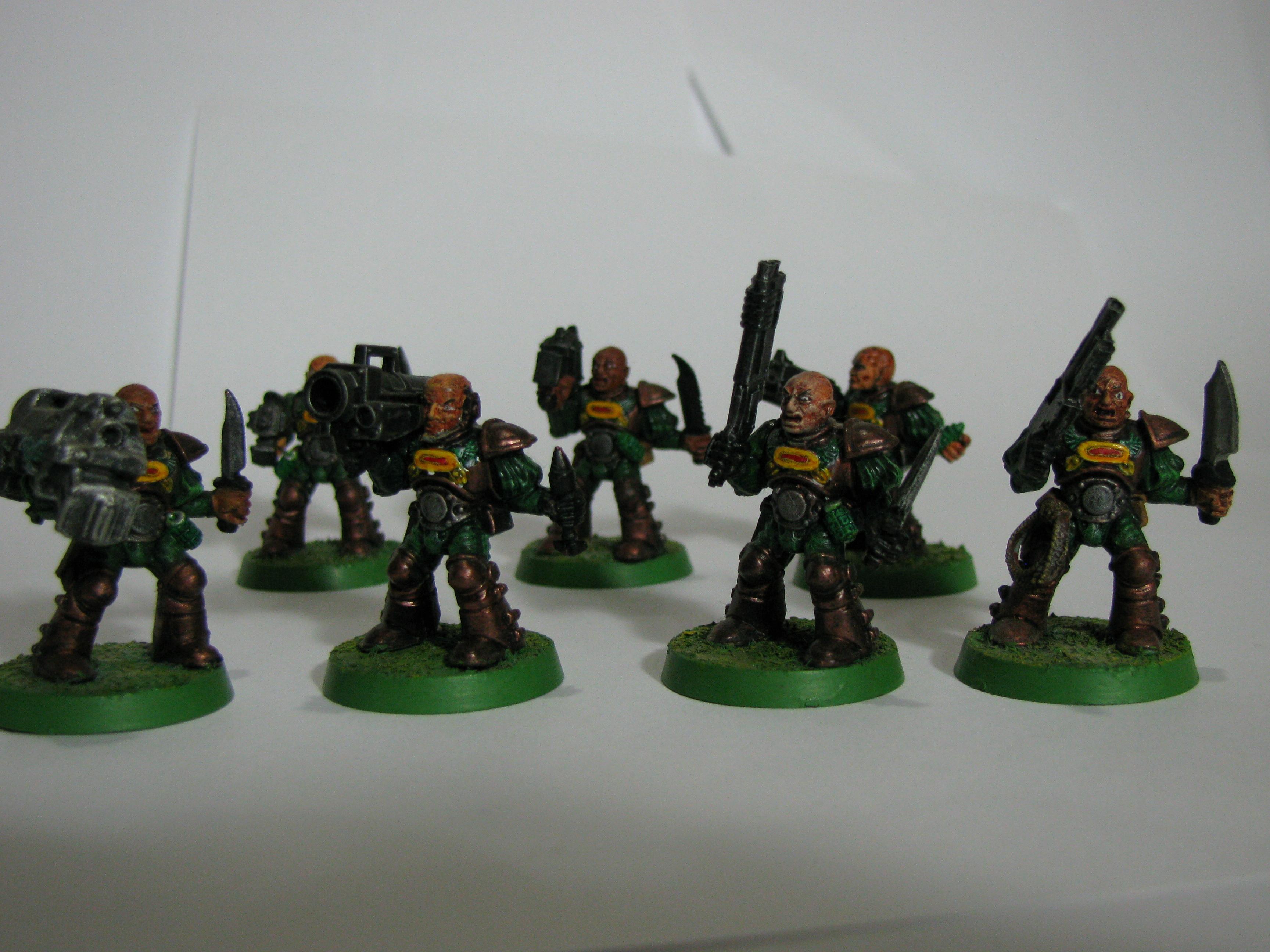Crusaders Penitent, Old School, Scouts, Space Crusade, Space Marines, Warhammer 40,000
