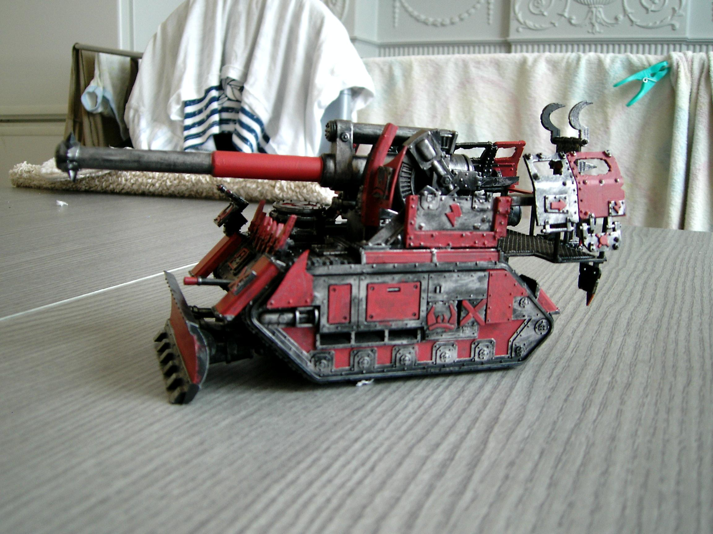 Krata Maka, Looted, Looted Vehicle, Looted Wagon, Ork40k, Orks