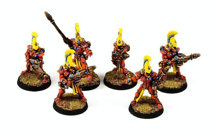 Eldar, Fire Dragon, Squad, Warhammer 40,000