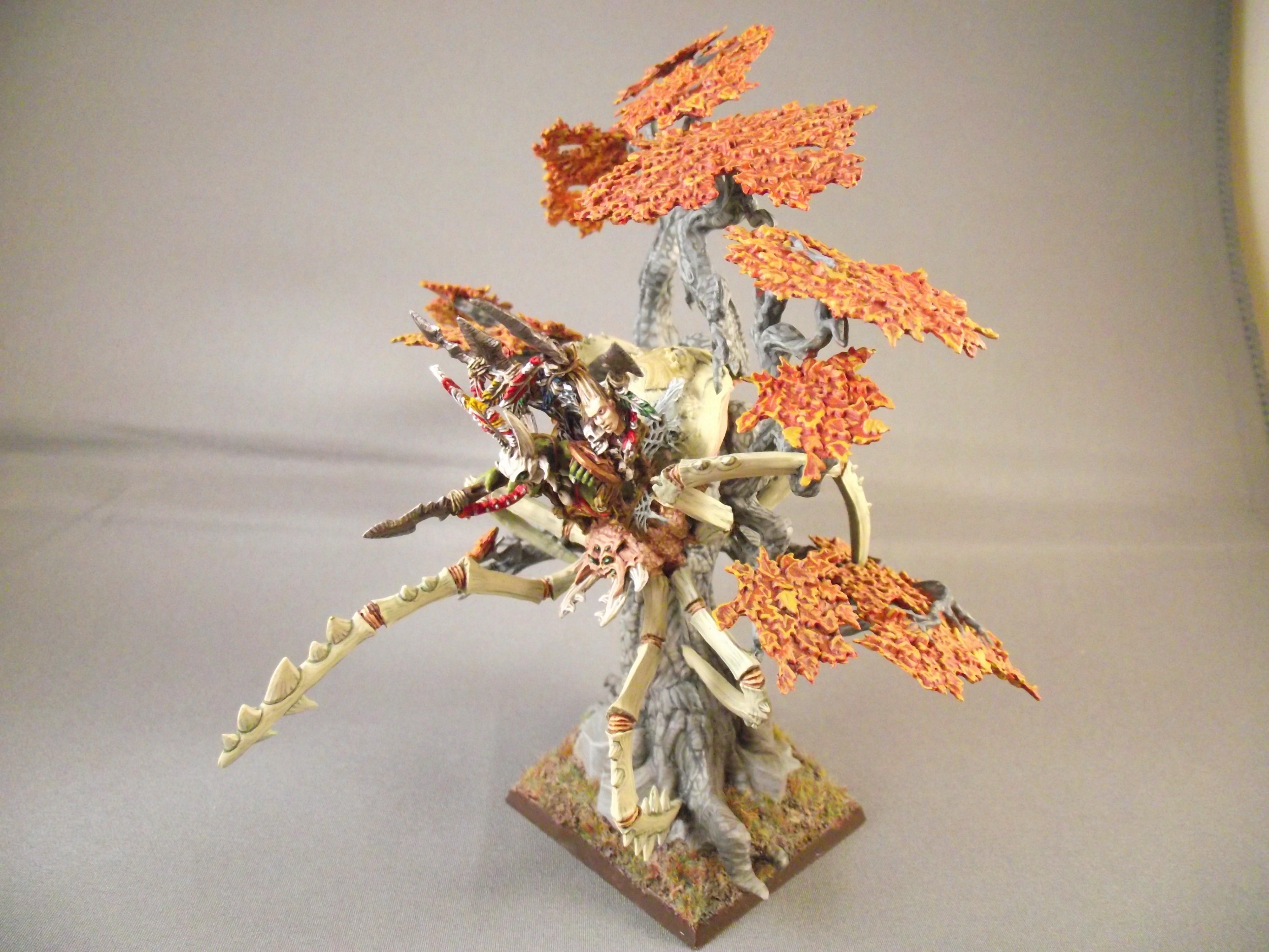Spider, Trees, Warhammer Fantasy