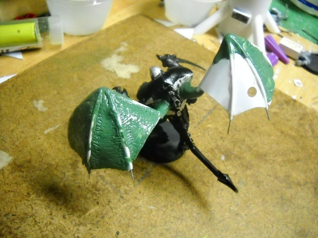 Tyrant wings are starting to come together
