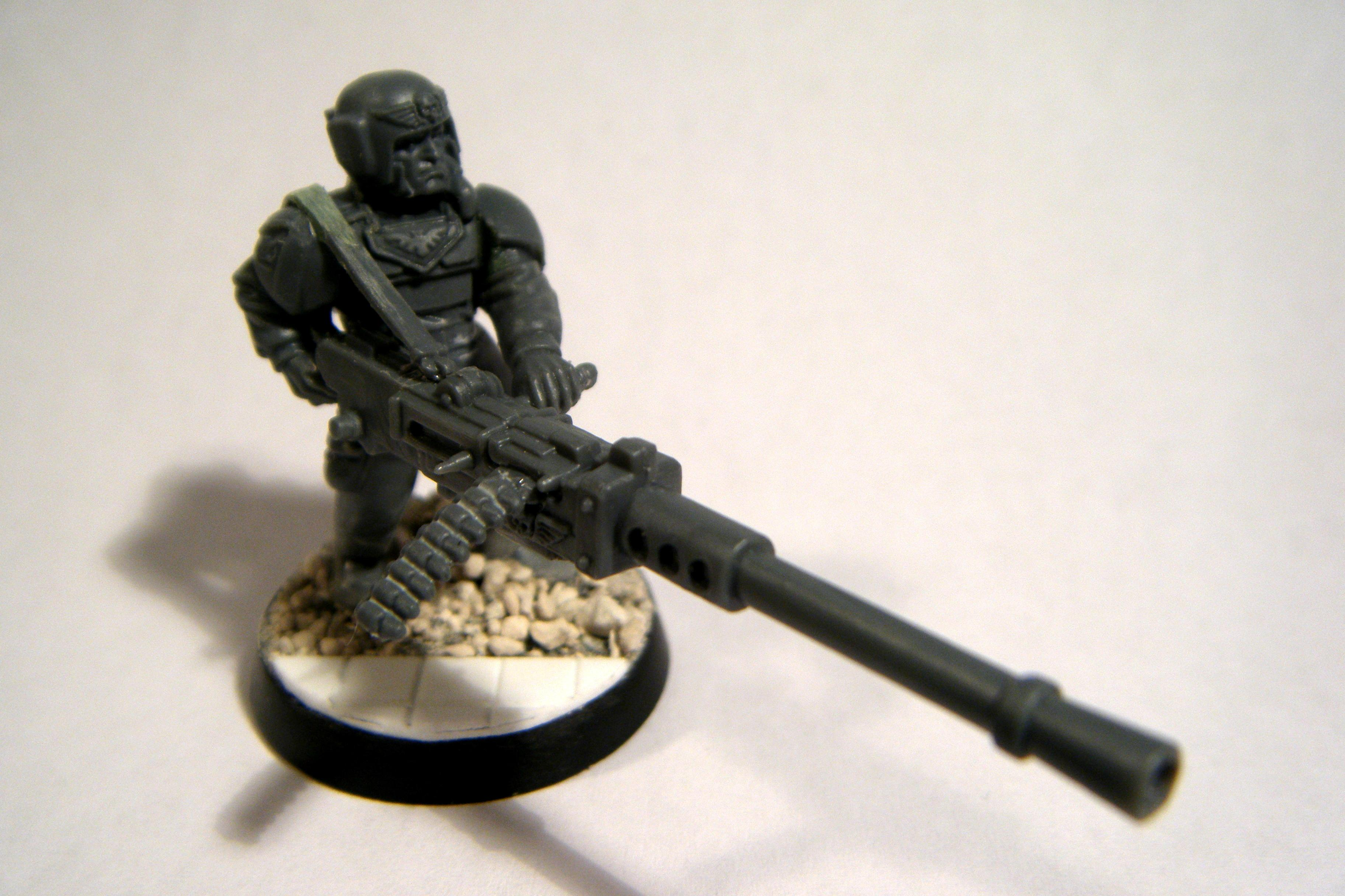 Cadians, Disable, Games Workshop, Heavy Stubber, Imperial Guard, Necromunda, Warhammer 40,000, Work In Progress