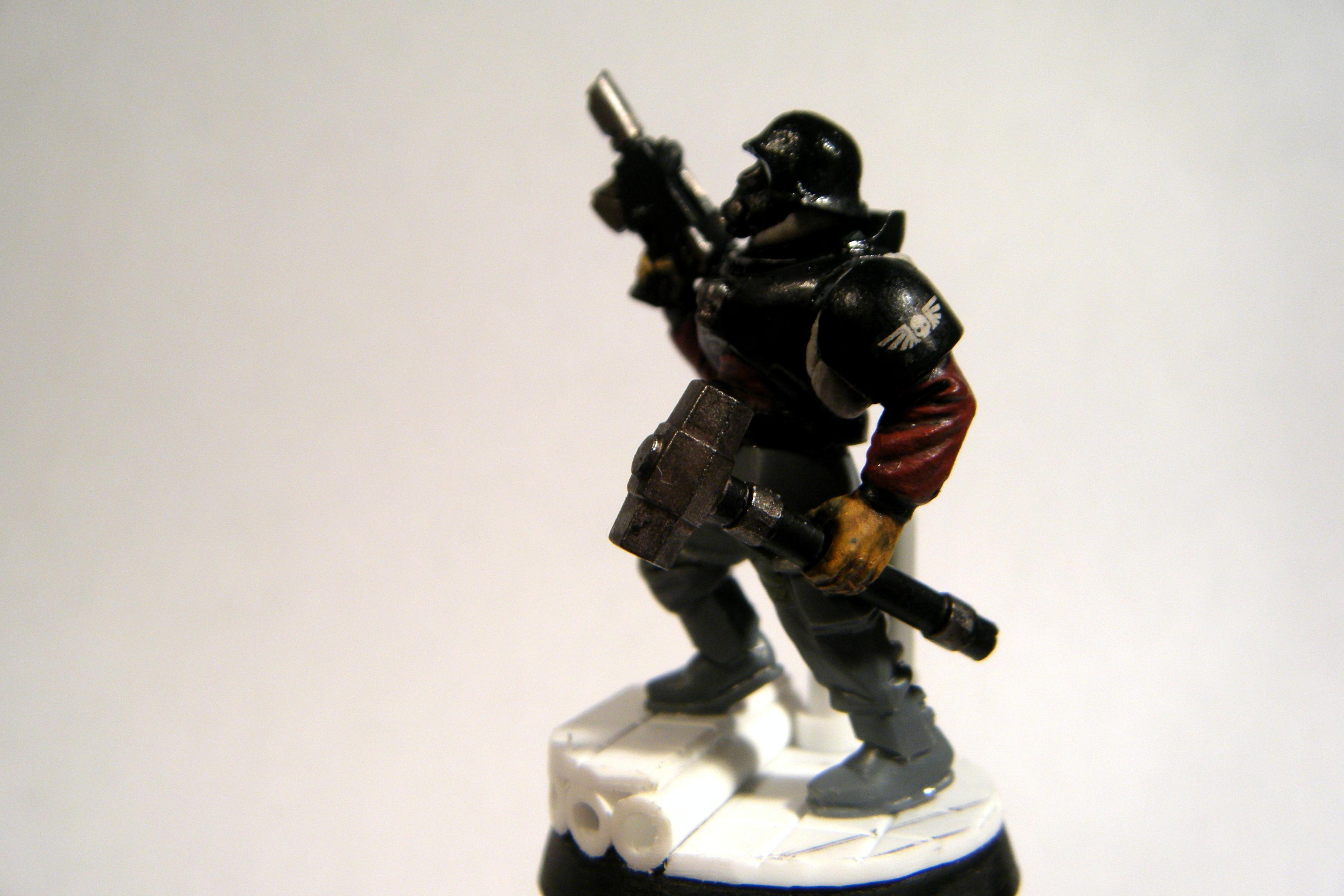 Close Combat, Hammer, Imperial Guard, Necromunda