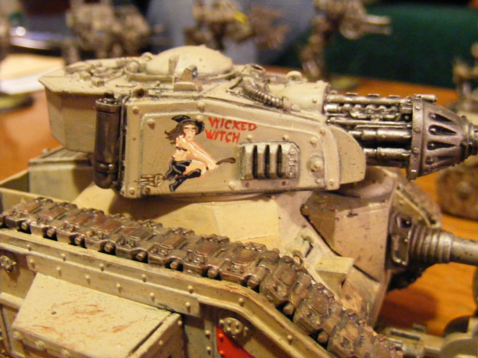 Battle, Freehand, Guard, Imperial, Leman, Russ, Tank