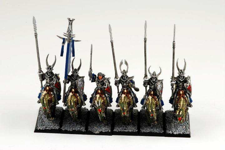 Cold One Knights, Dark Elves, Warhammer Fantasy