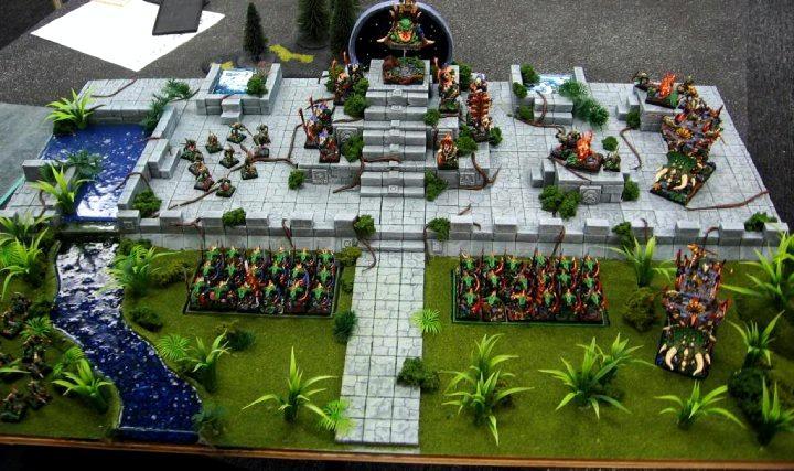 Display Board, Lizardmen, Warhammer Fantasy