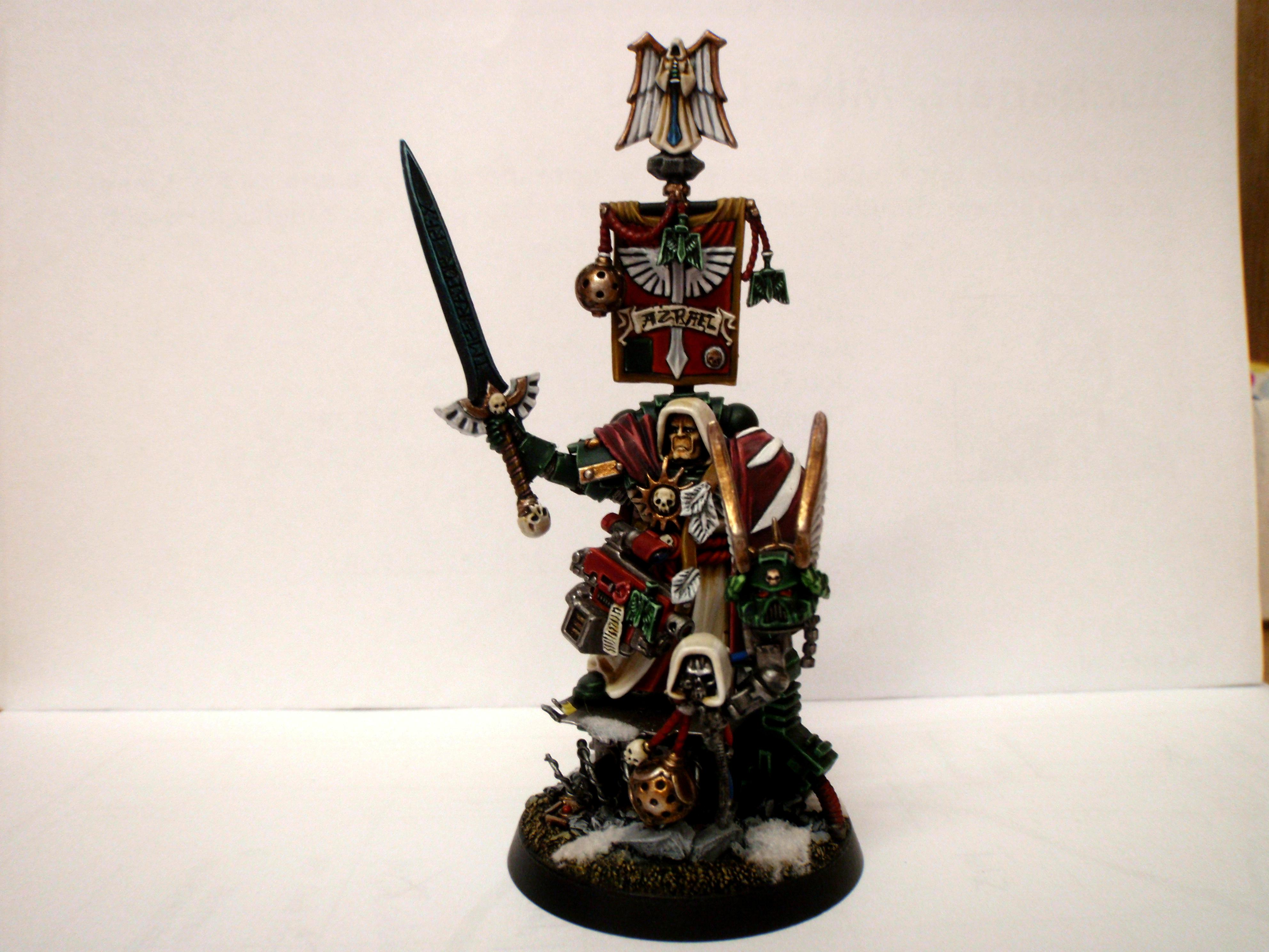 Azrael, Chapter Master, Conversion, Dark Angels, Space Marine., Watcher