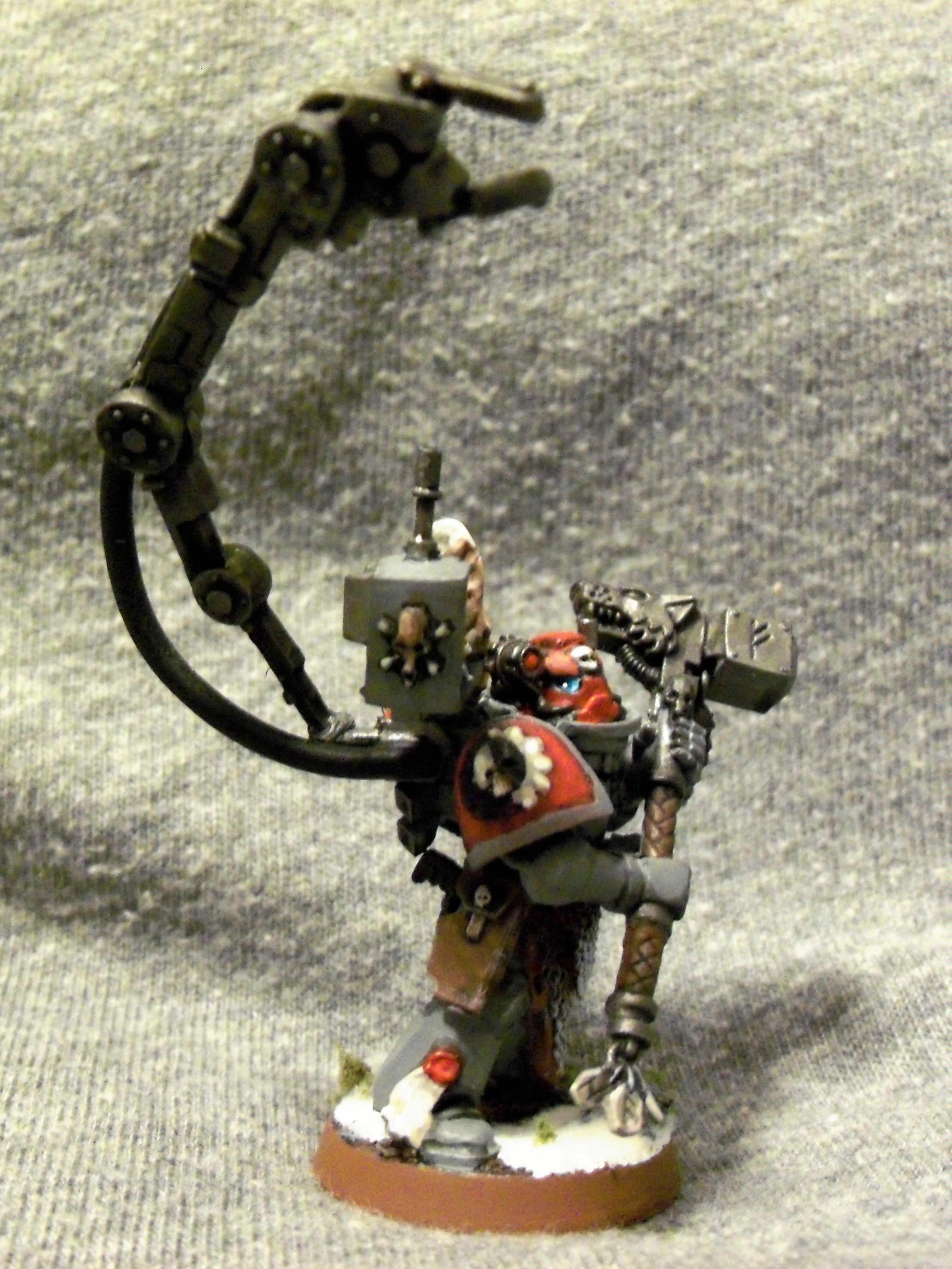 Iron Priest, Space Marines, Space Wolves, Techmarine, Warhammer 40,000