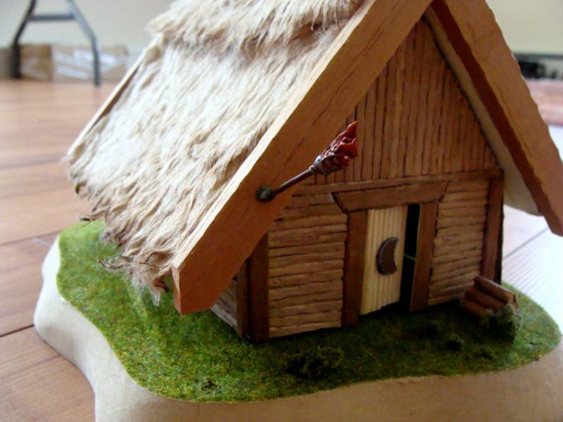 Making a viking house model