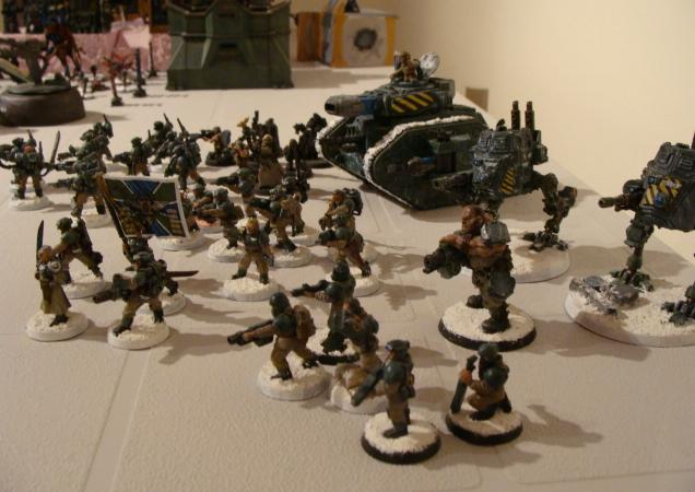 Army, Imperial Guard