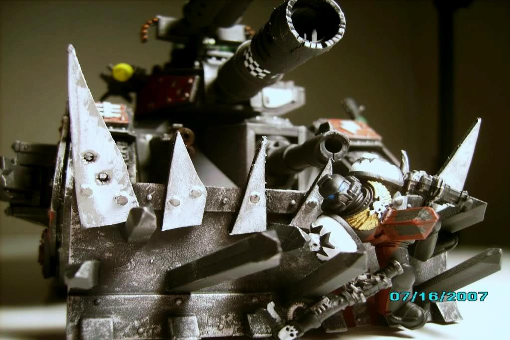 Guard Abuse, Looted, Ork Looted Tank, Orks