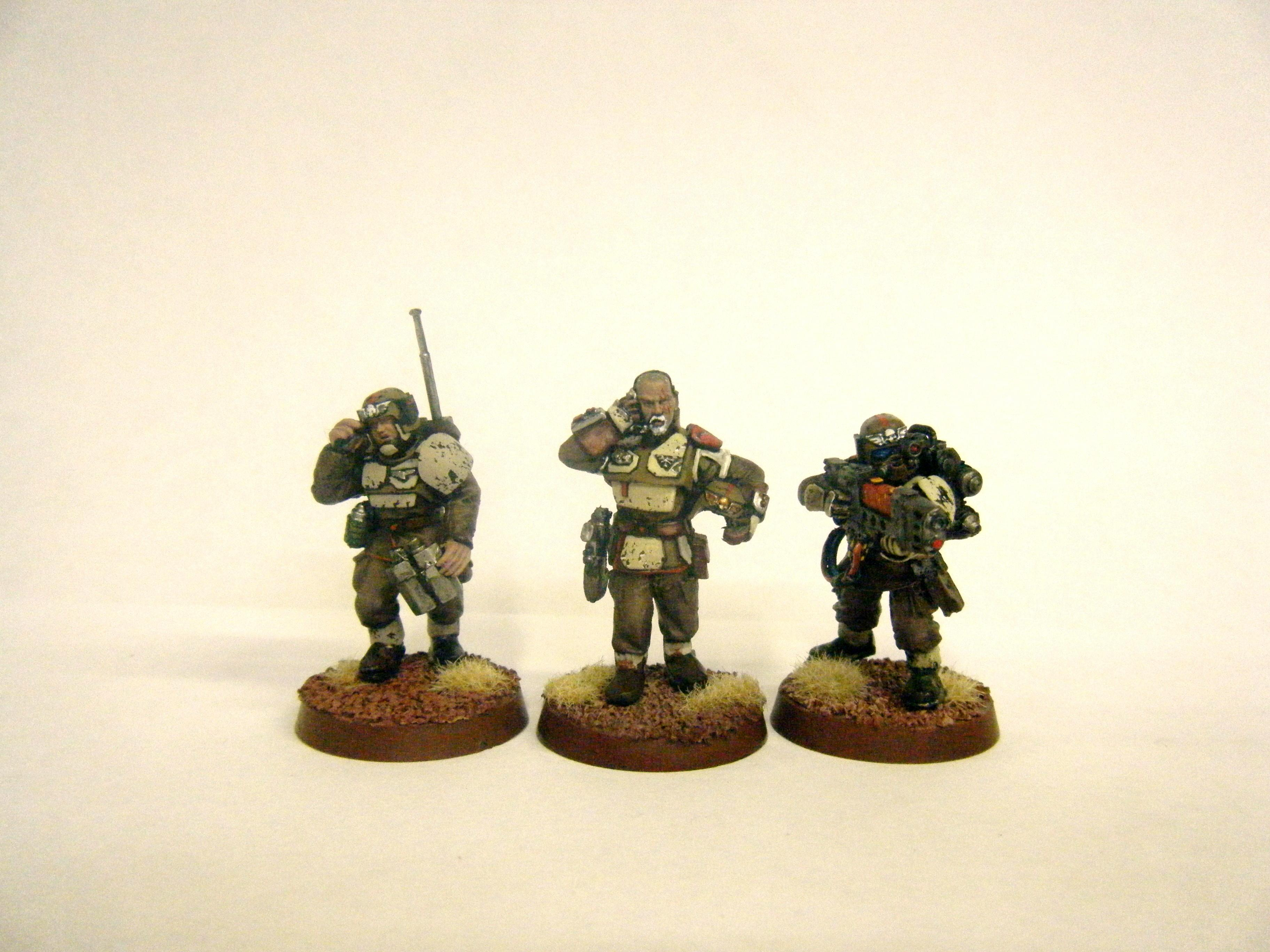 Imperial Guard, New Company Command Squad