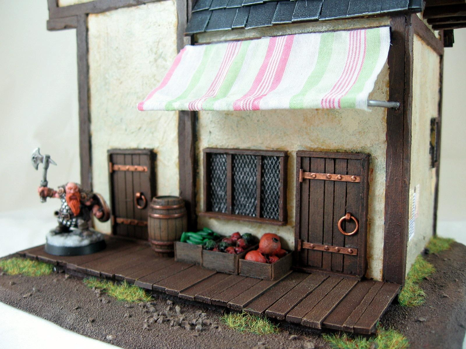 Buildings, Shop, Terrain, Warhammer Fantasy