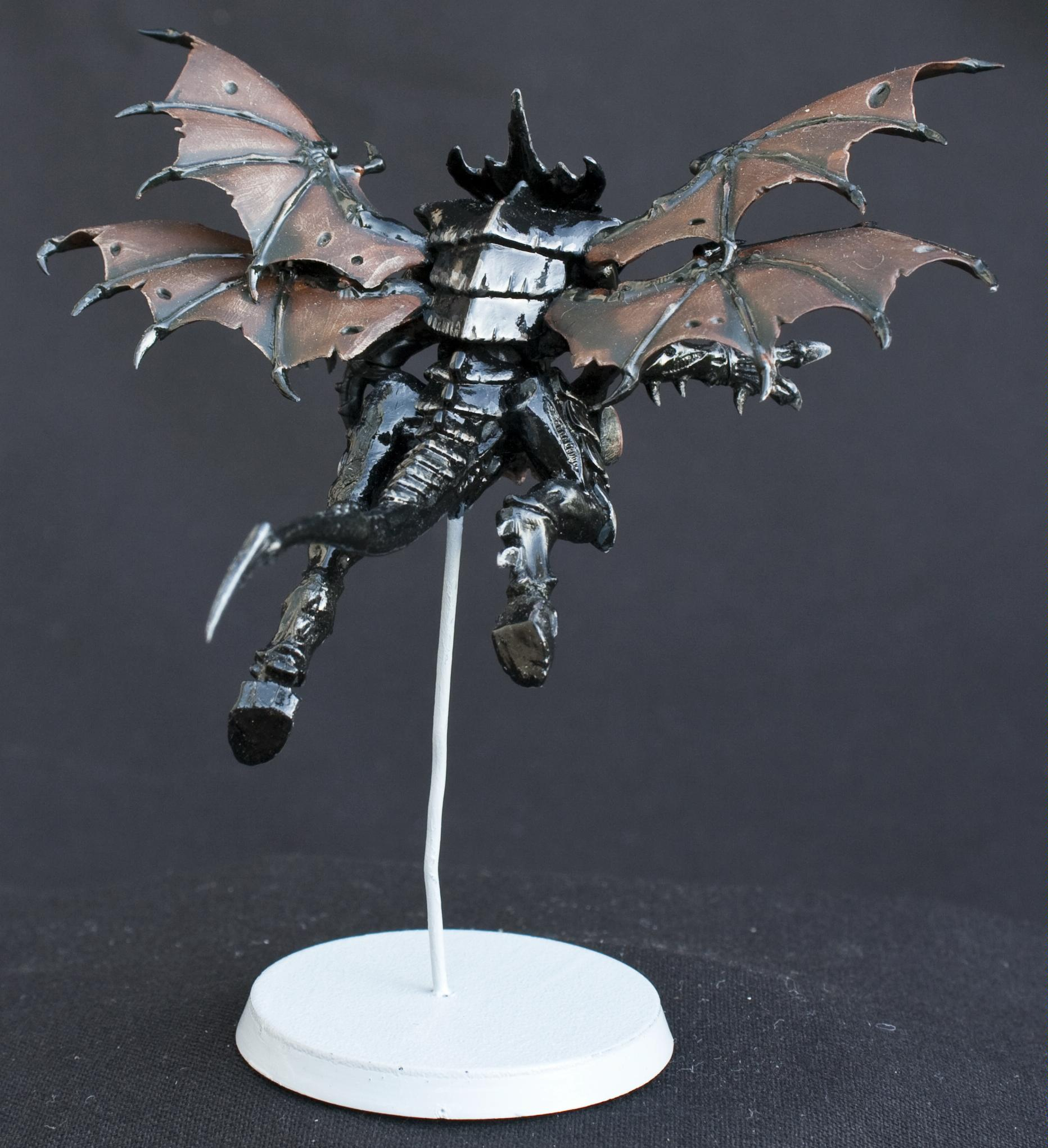 Black, Conversion, Flying, Glossy, Shrike, Shrikes, Tyranids, Wings. Warhammer40k