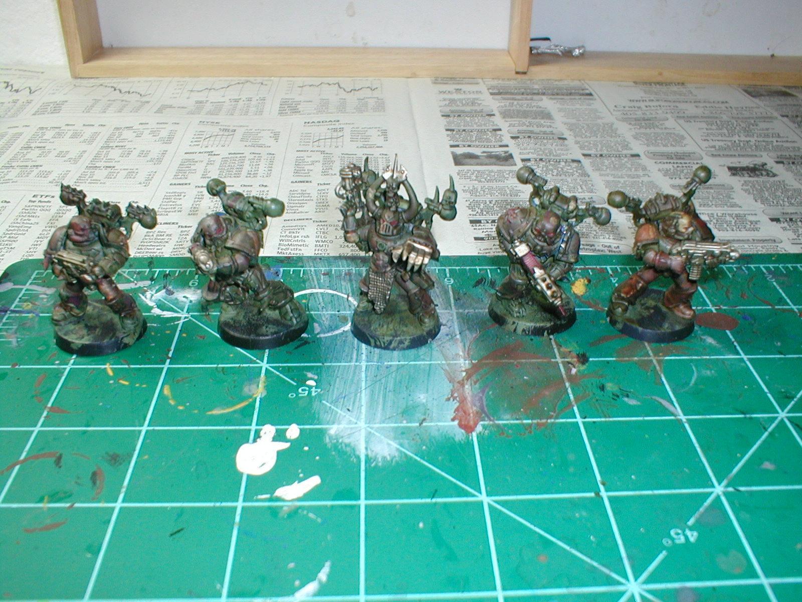 Chaos Space Marines, Death Guard, Nurgle, Plague Marines, Wahammer 40k
