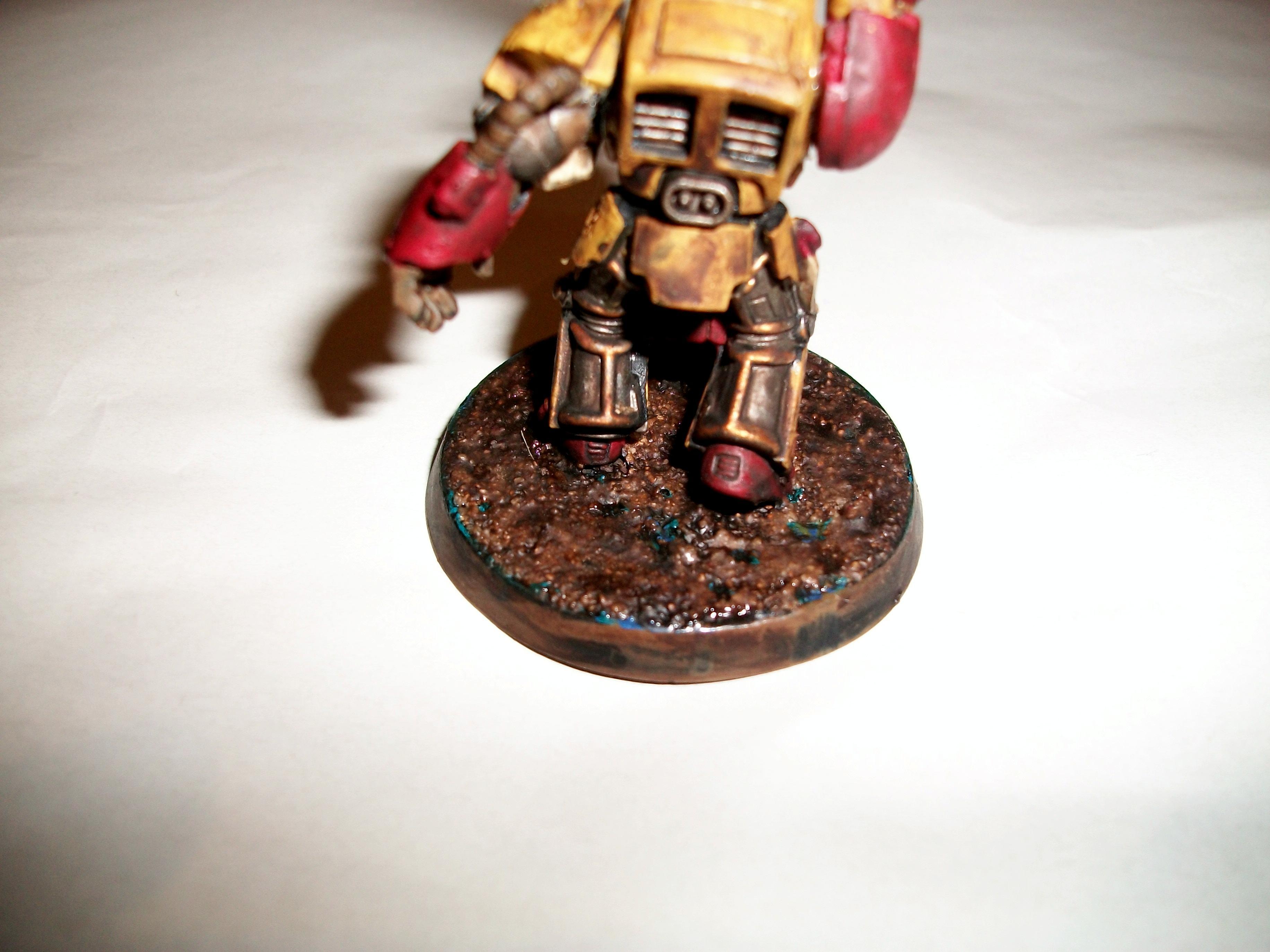 Space Marines, Terminator Armor, Yellow