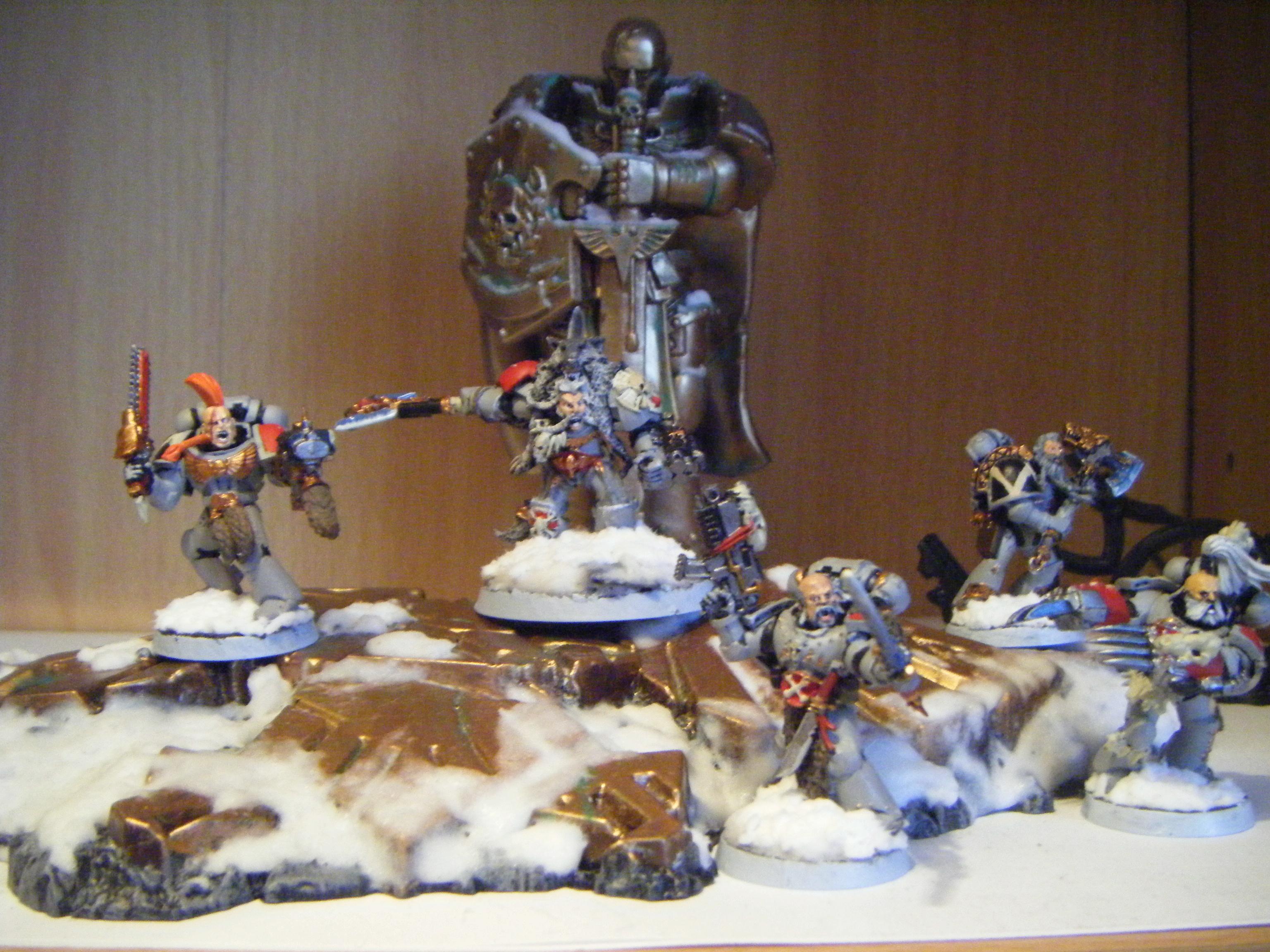 Adeptus Astartes, Logan Grimnar, Space Marines, Space Wolves