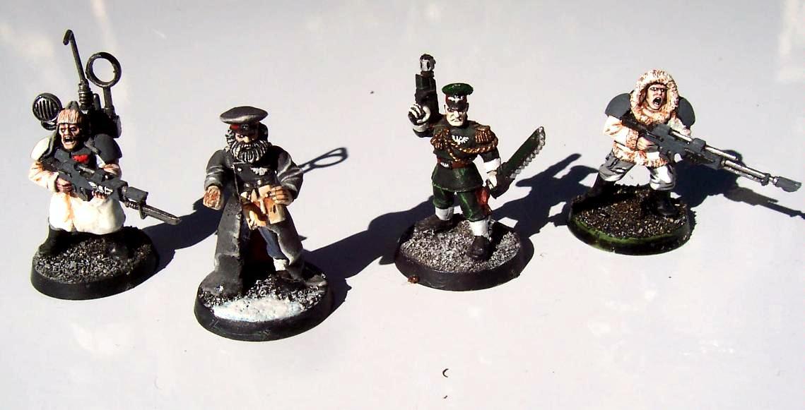 Comandeur, Comissaire, Garde Imperial, Qg, Radio, Snipers, Warhammer 40,000