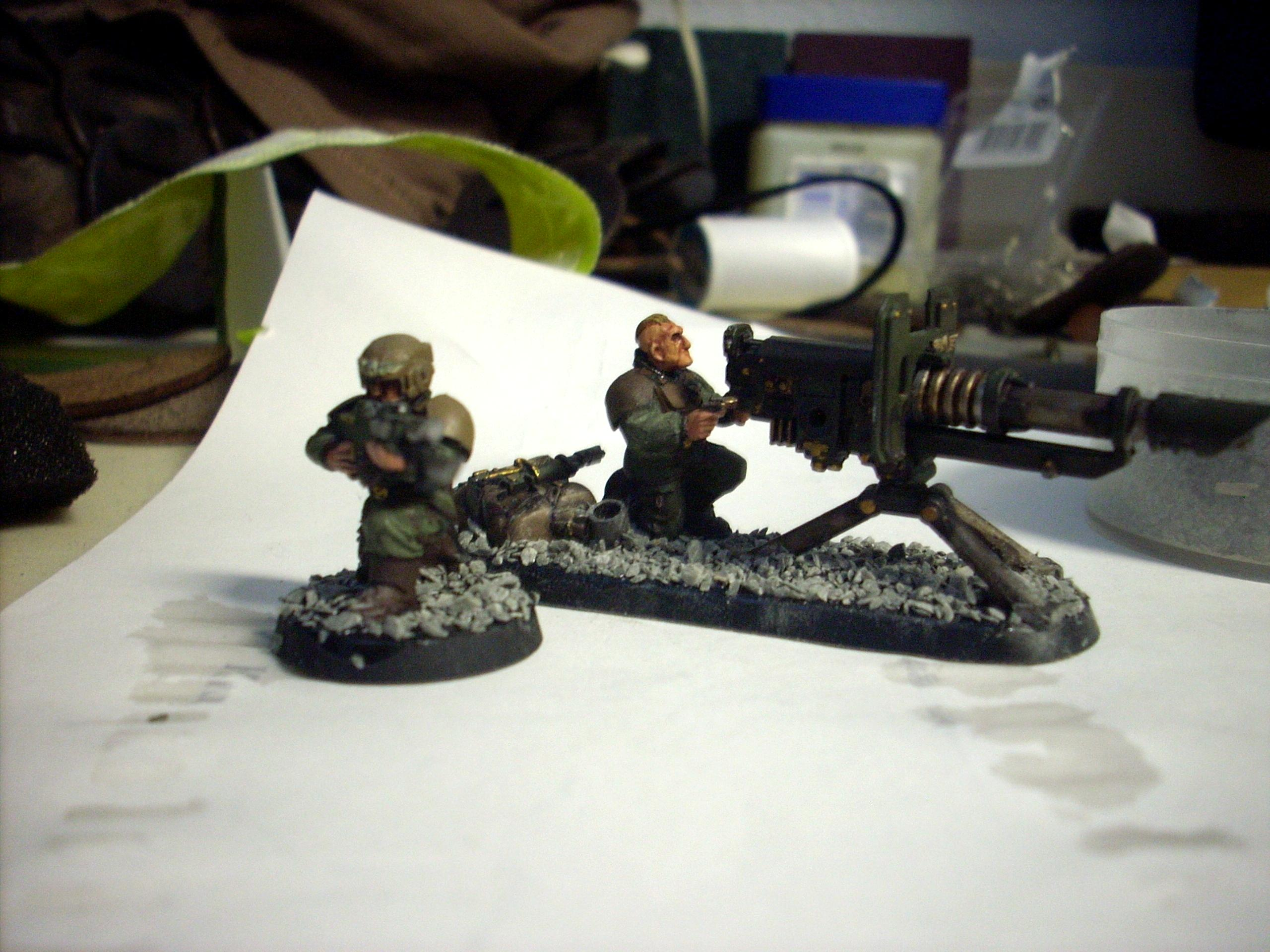 Heavy Weapons Team Lascannon 2