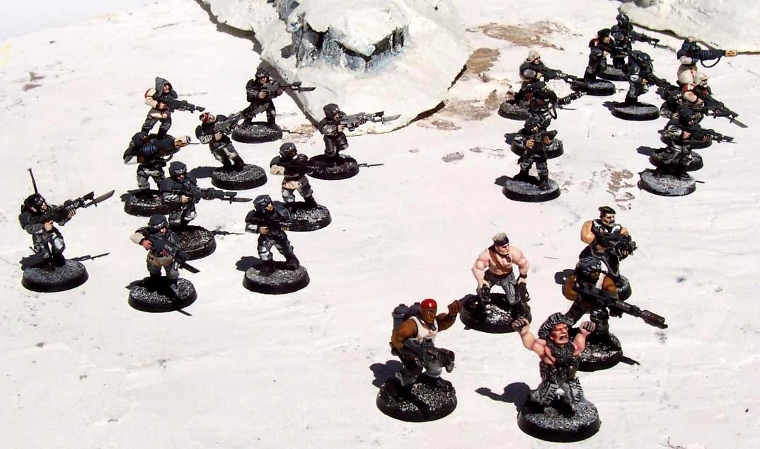 Escouade, Fantassins, Troupe, Warhammer 40,000