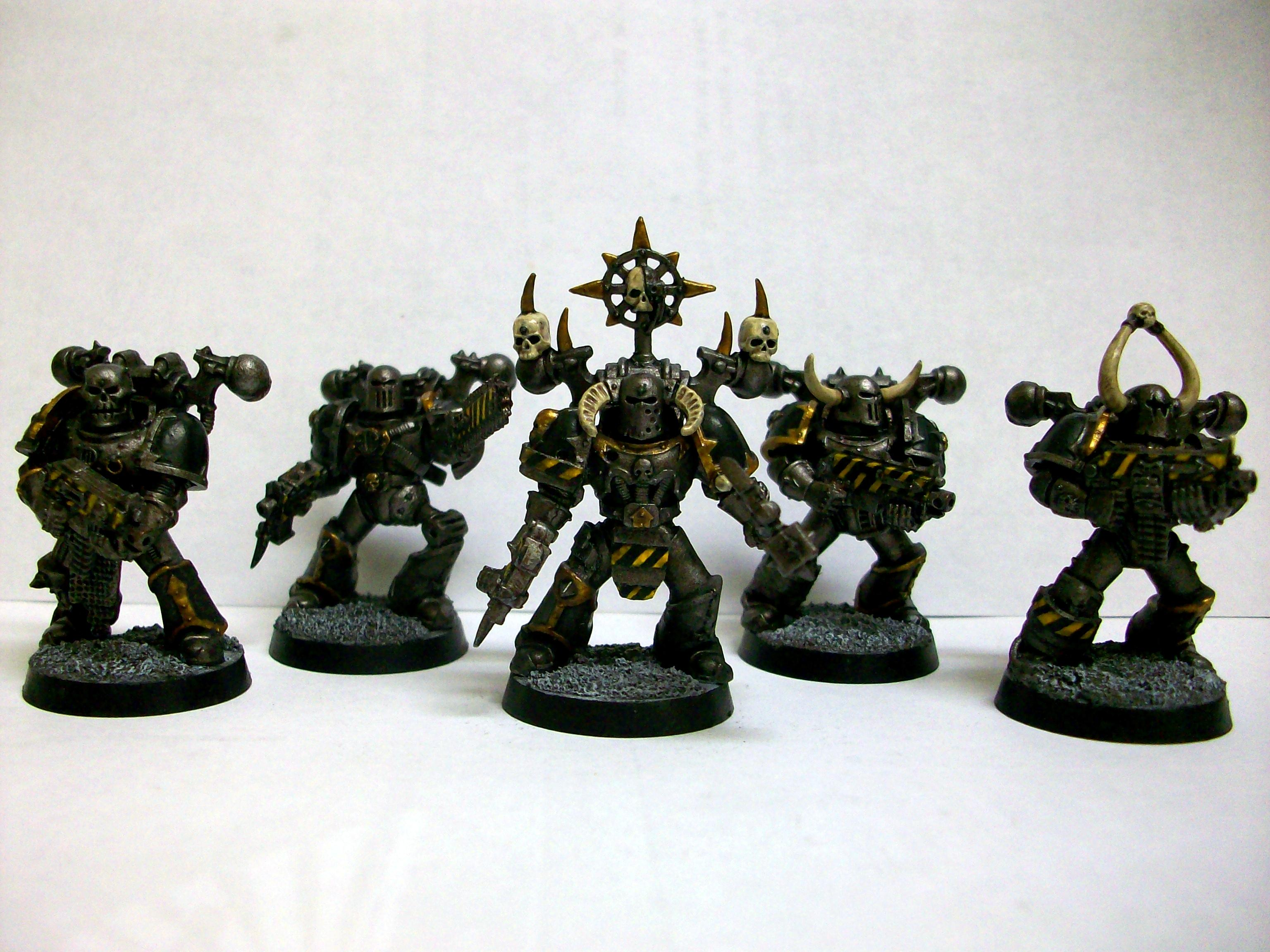 Chaos, Company, Fourth, Iron, Legion, Obliterators, Perturabo, Space, Space Marines, Third, Warriors