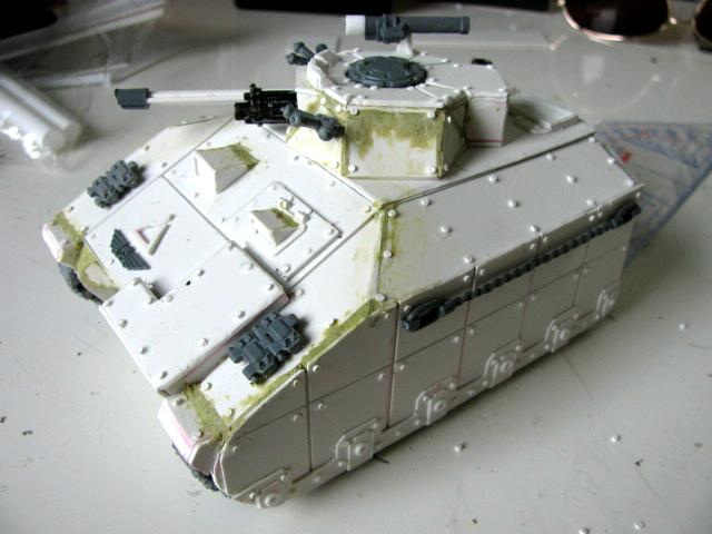3rd, Belgium, Camouflage, Chimera, Conversion, Darkon, Imperial Guard, Plasticard, Schratchbuilt, Tank, Veteran, Warhammer 40,000, Work In Progress