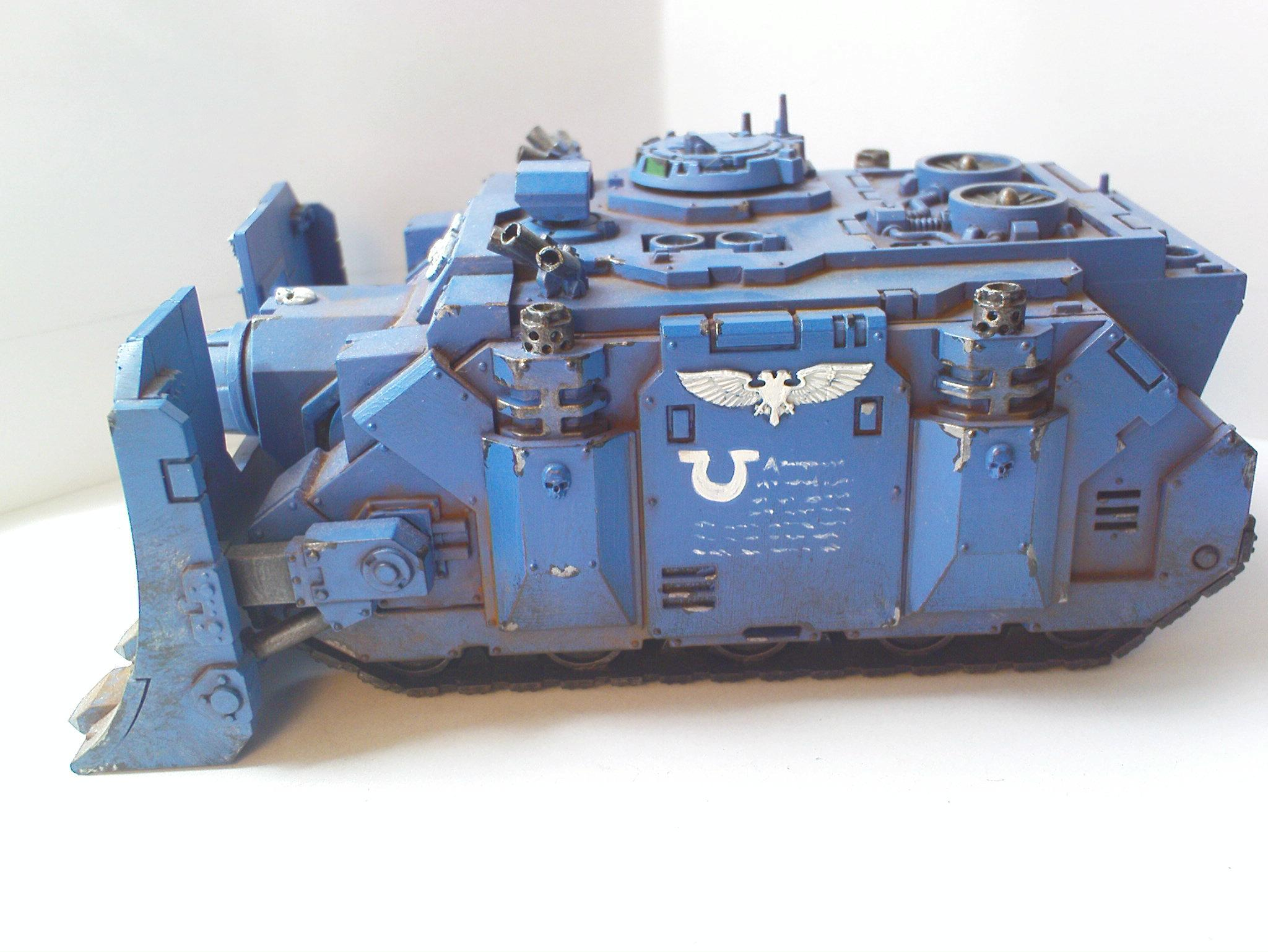Heavy Support, Space Amrine, Ultra Marines, Vindicator, Warhammer 40,000