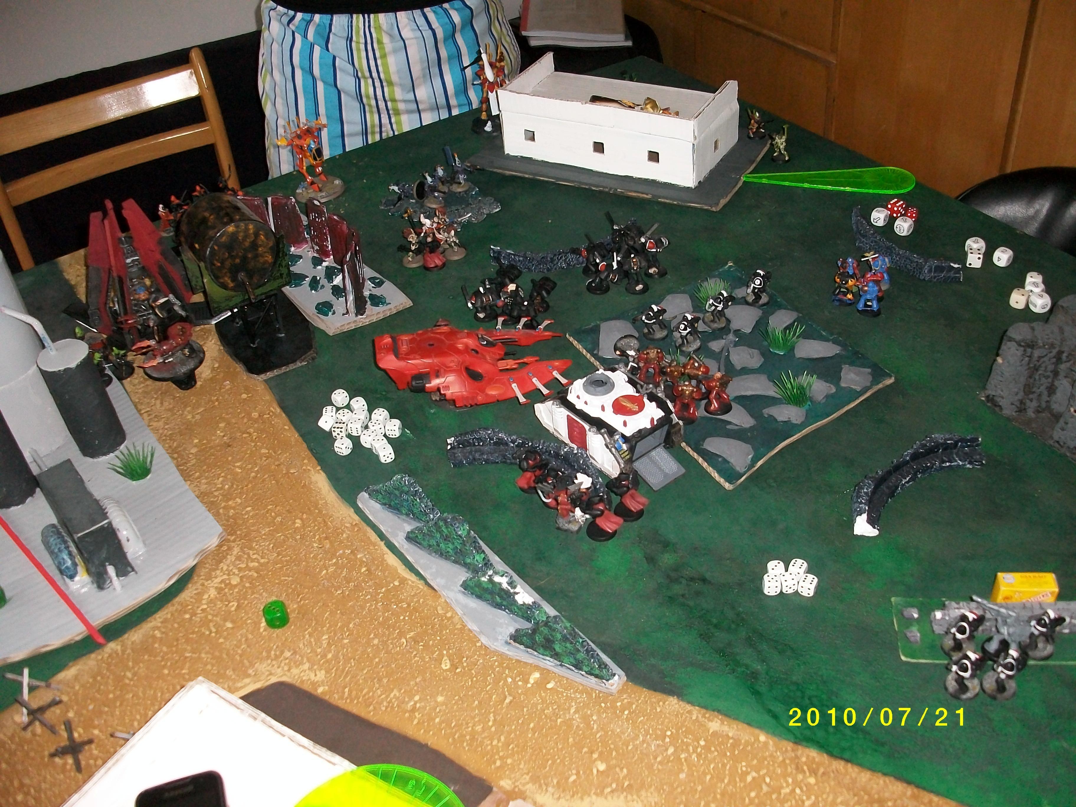 Battle, Warhammer 40,000