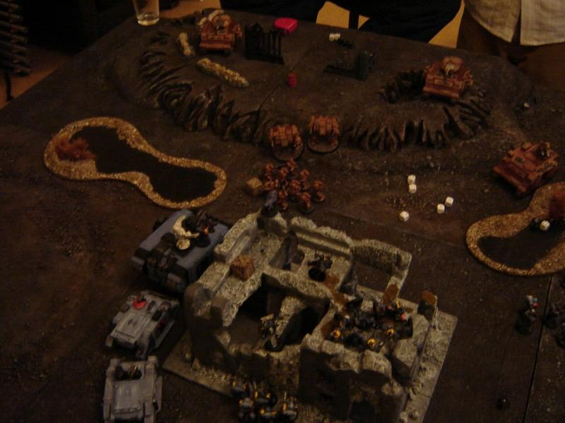 Battle Report, 1750 Space Wolves vs Storm Callers 9