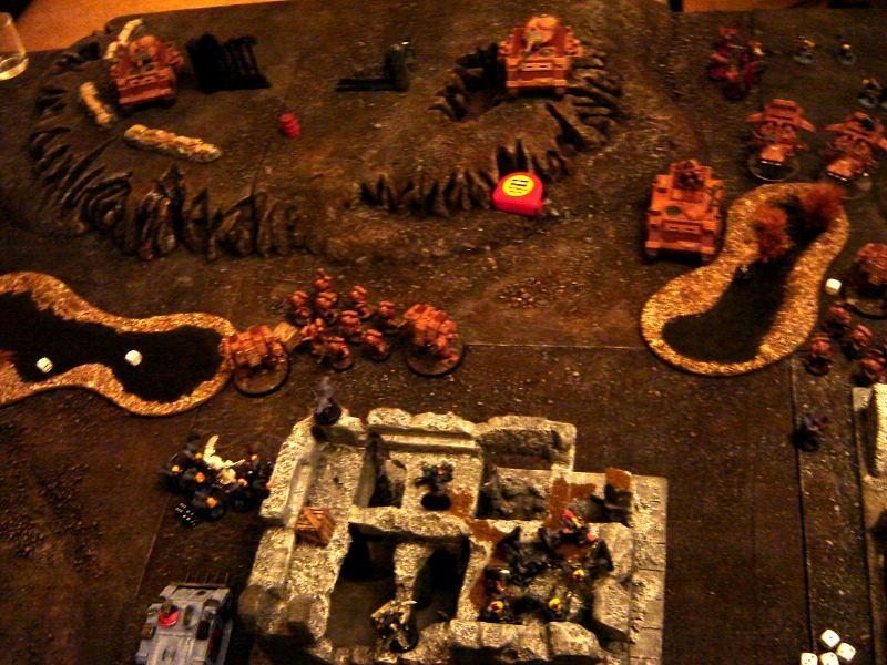 Battle Report, 1750 Space Wolves vs Storm Callers 11