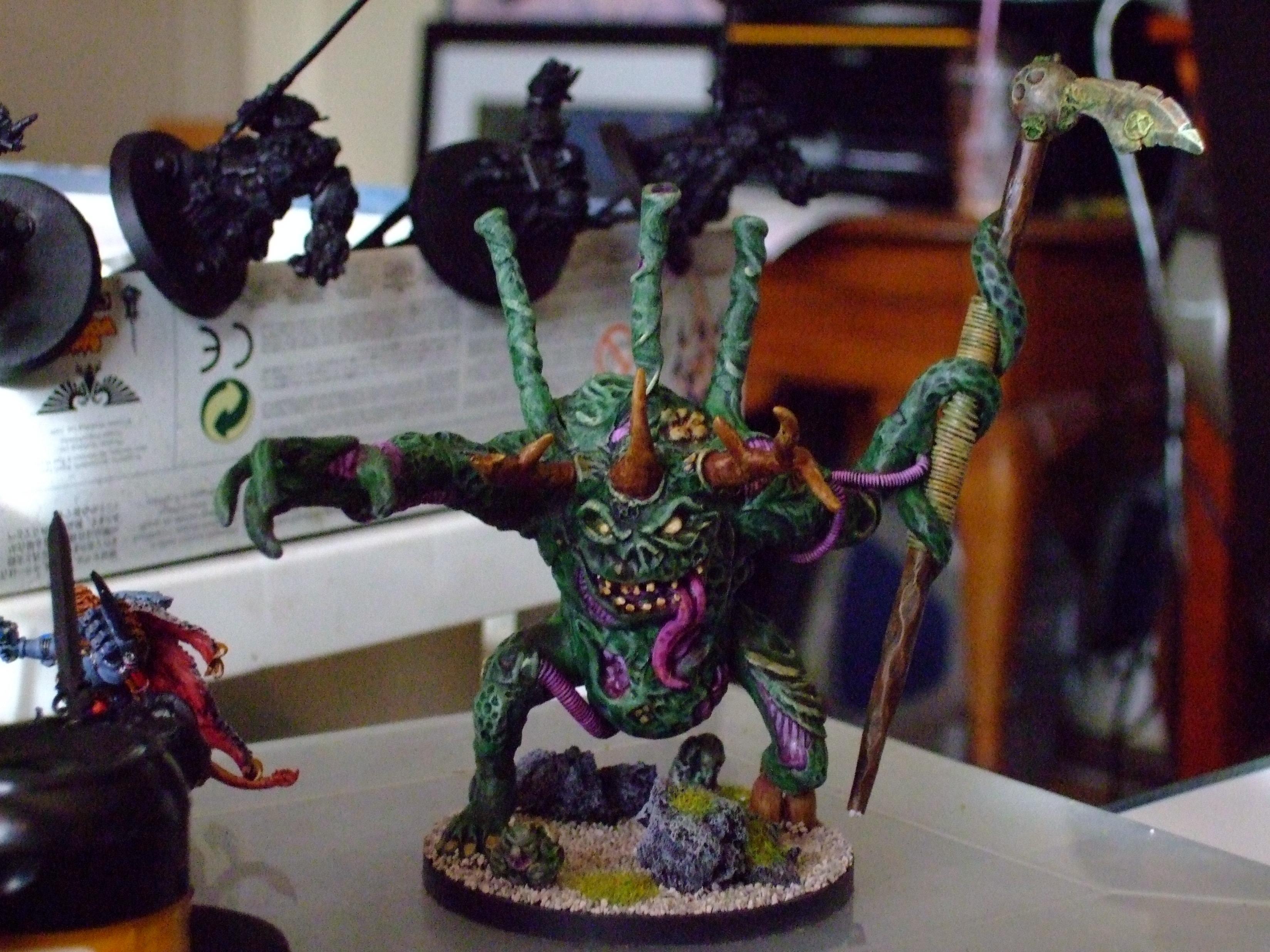 Daemons, Nurgle, Sculpting