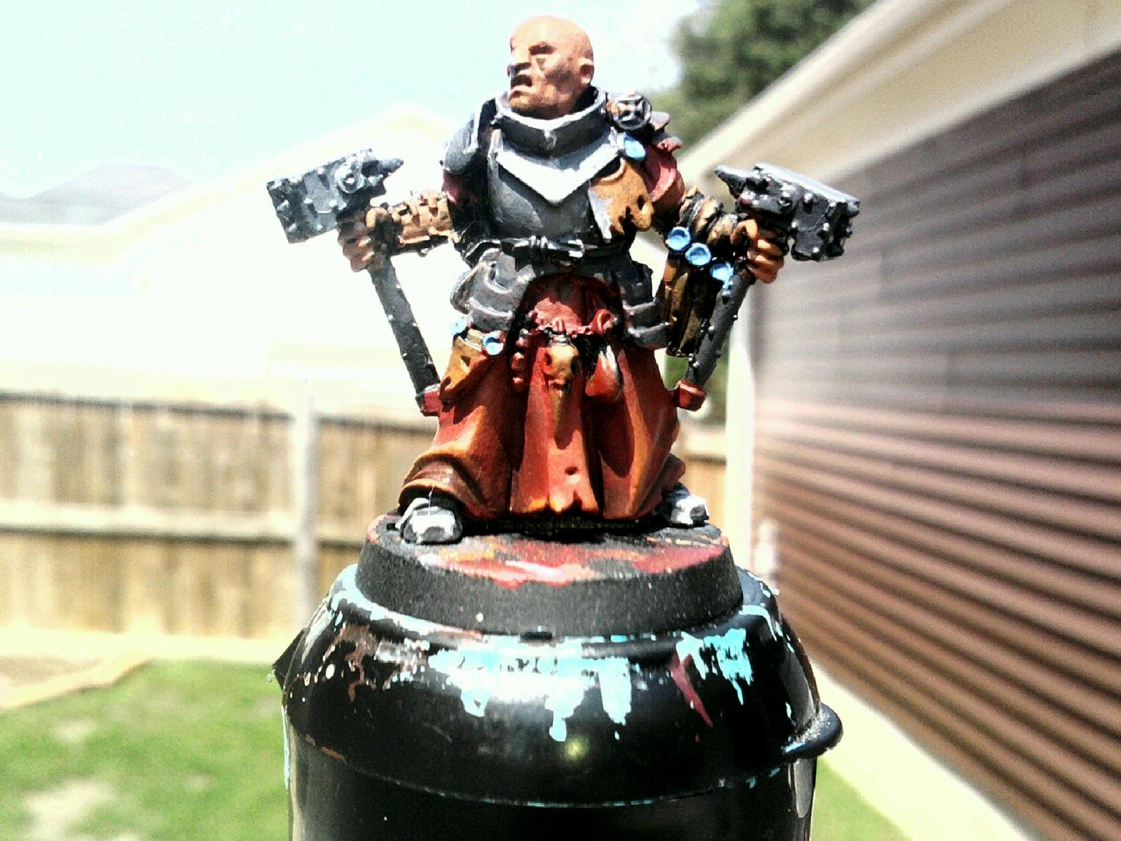 Empire, Priest, WIP Warhammer Pirest