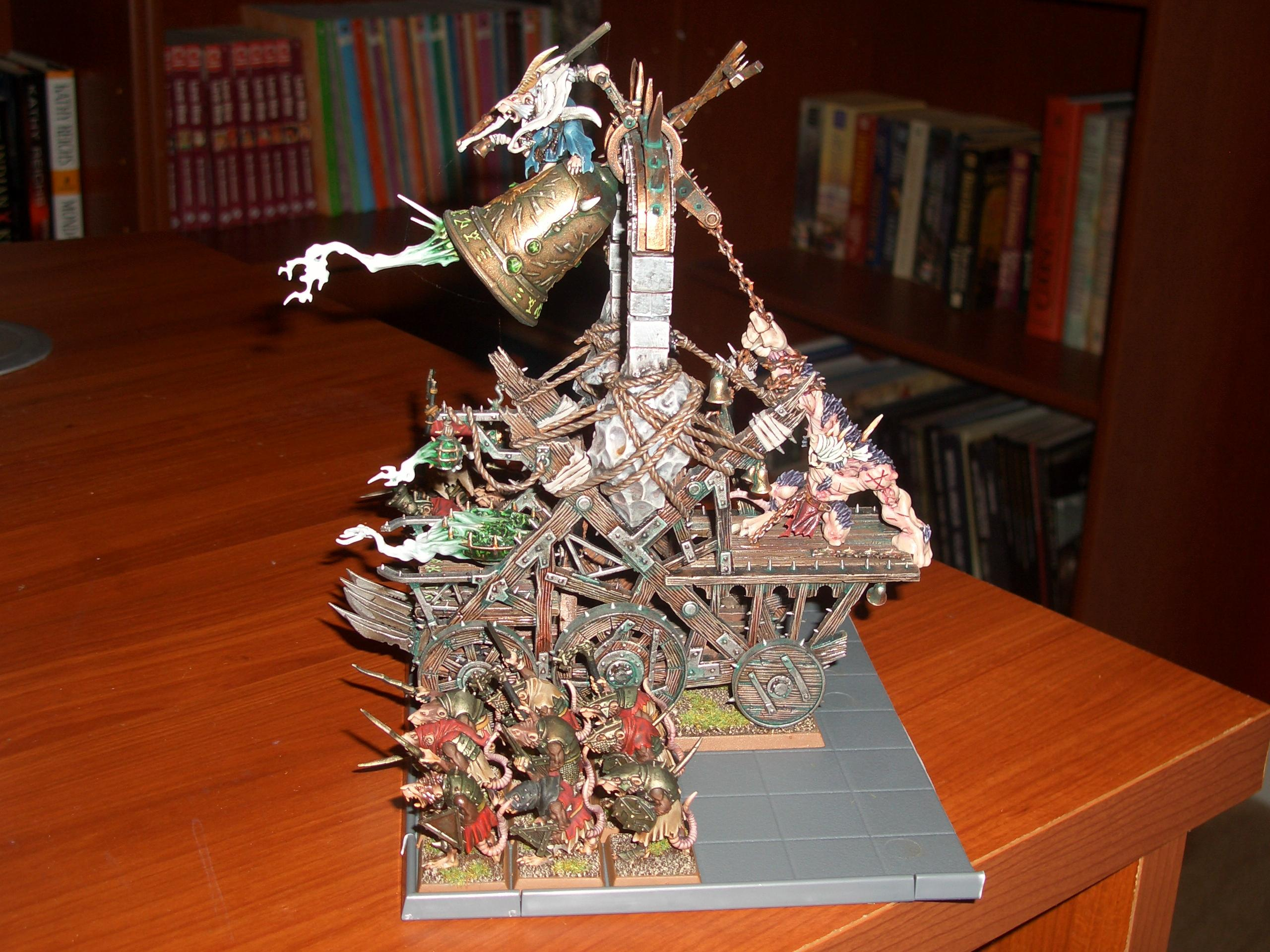 Clanrats, Screaming Bell, Skaven