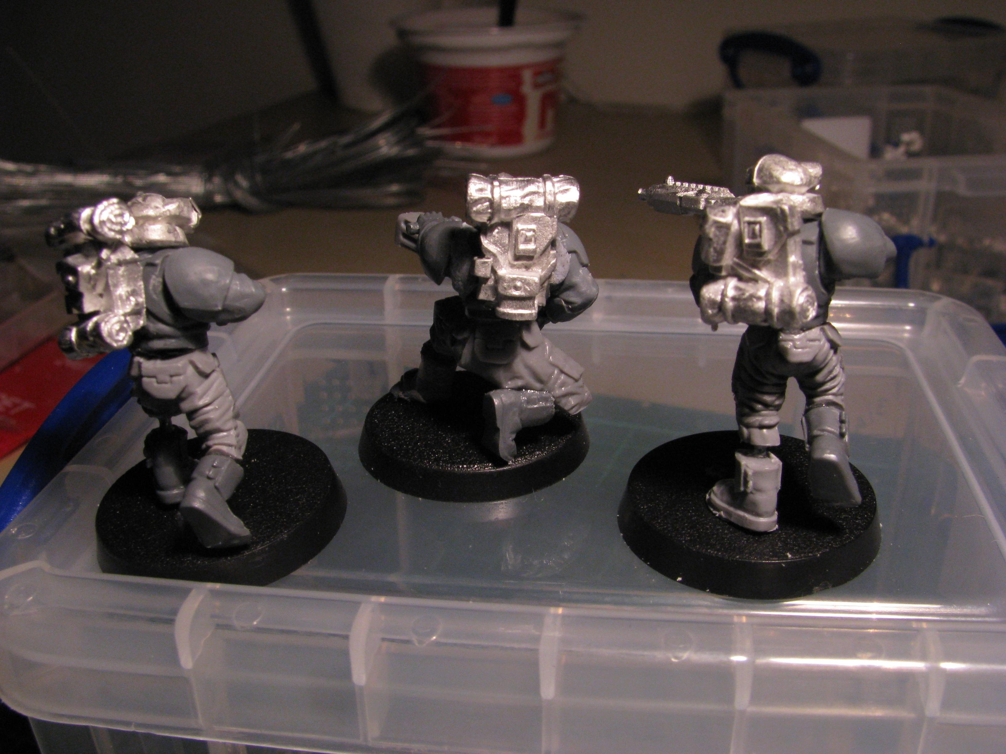 Conversion, Guard, Pig Iron, Stormtrooper