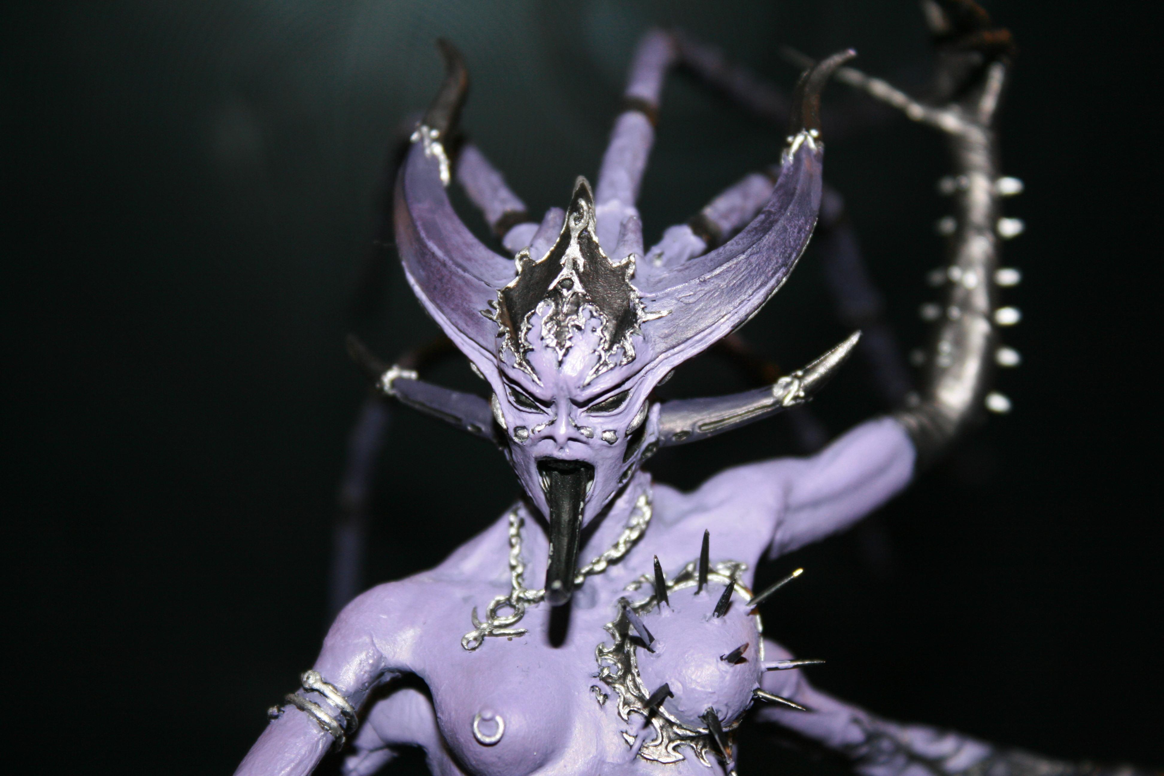 Chaos, Daemons, Forge World, Greater Deamon, Keeper Of Secrets, Slaanesh, Warhammer 40,000