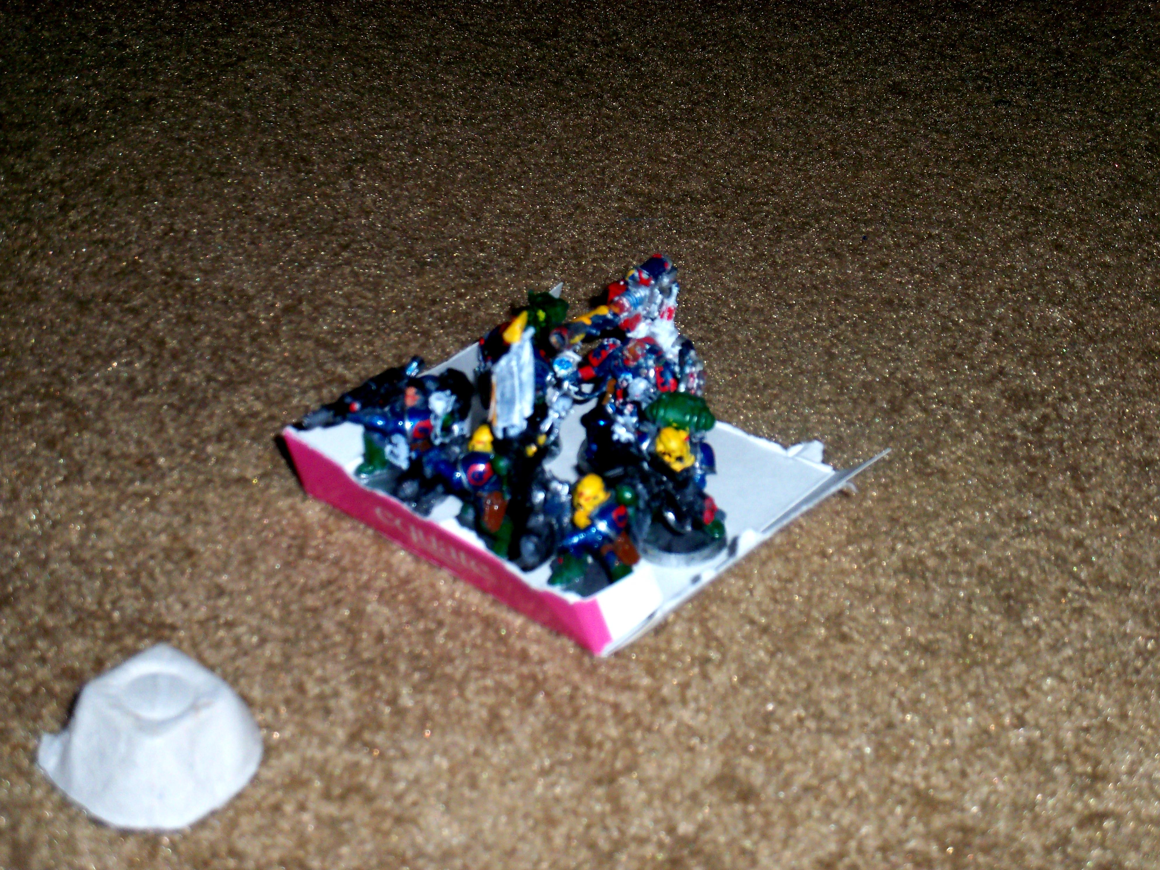 Cans, Egg Cartons, Space Marines