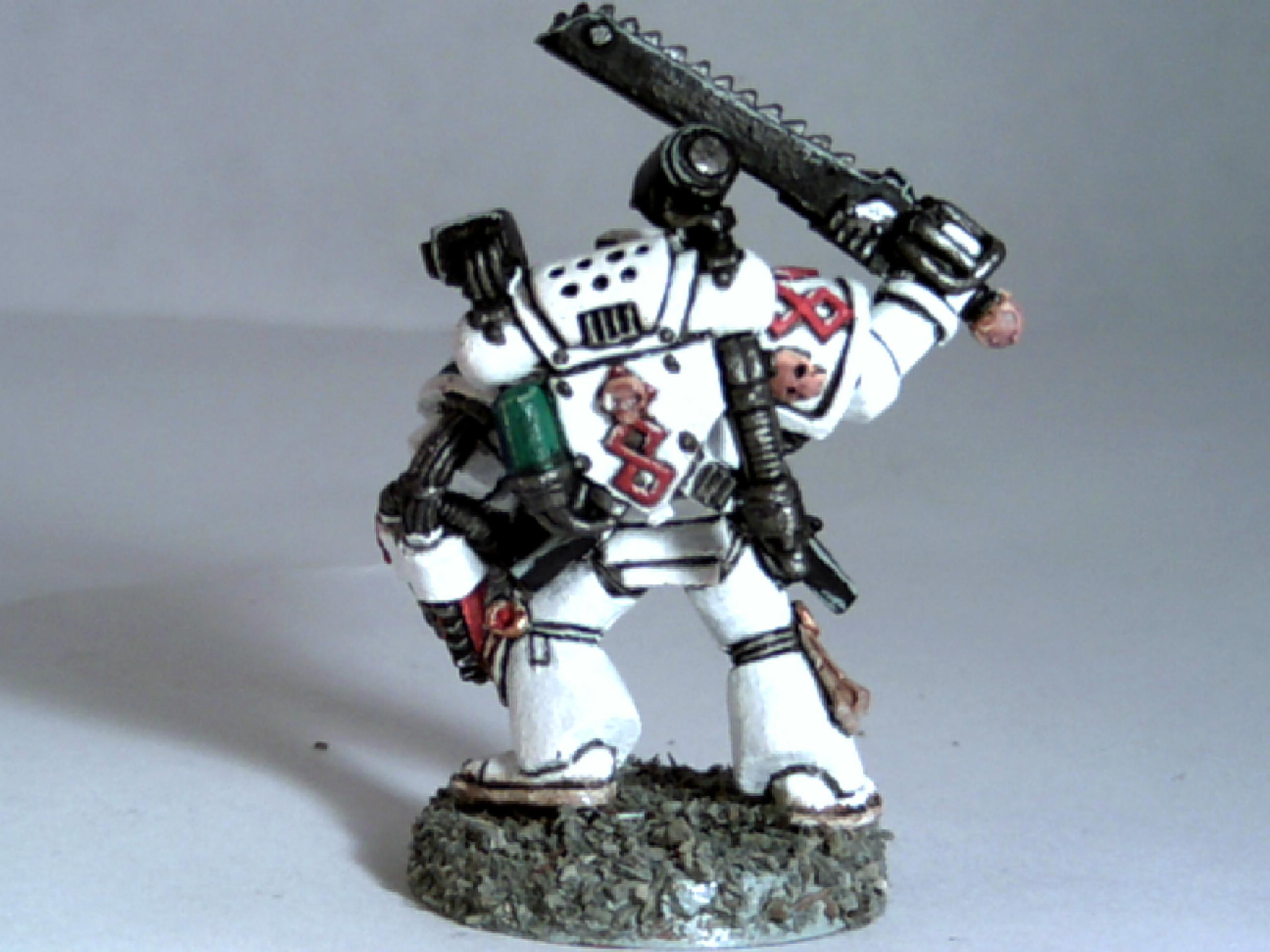 Apothecary, Space Marines