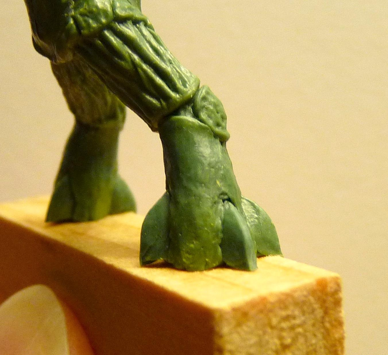 Ambull, Greenstuff, Sculpting