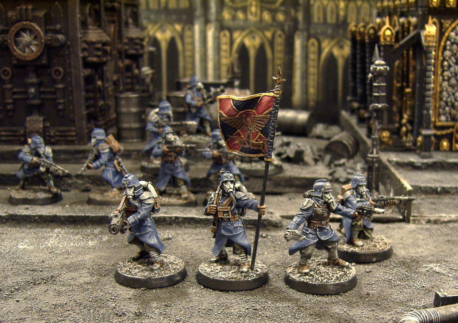 Death, Death Korps of Krieg, Forge World, Guard, Imperial, Imperial Guard, Korps, Leman Russ, Tank, Terrain