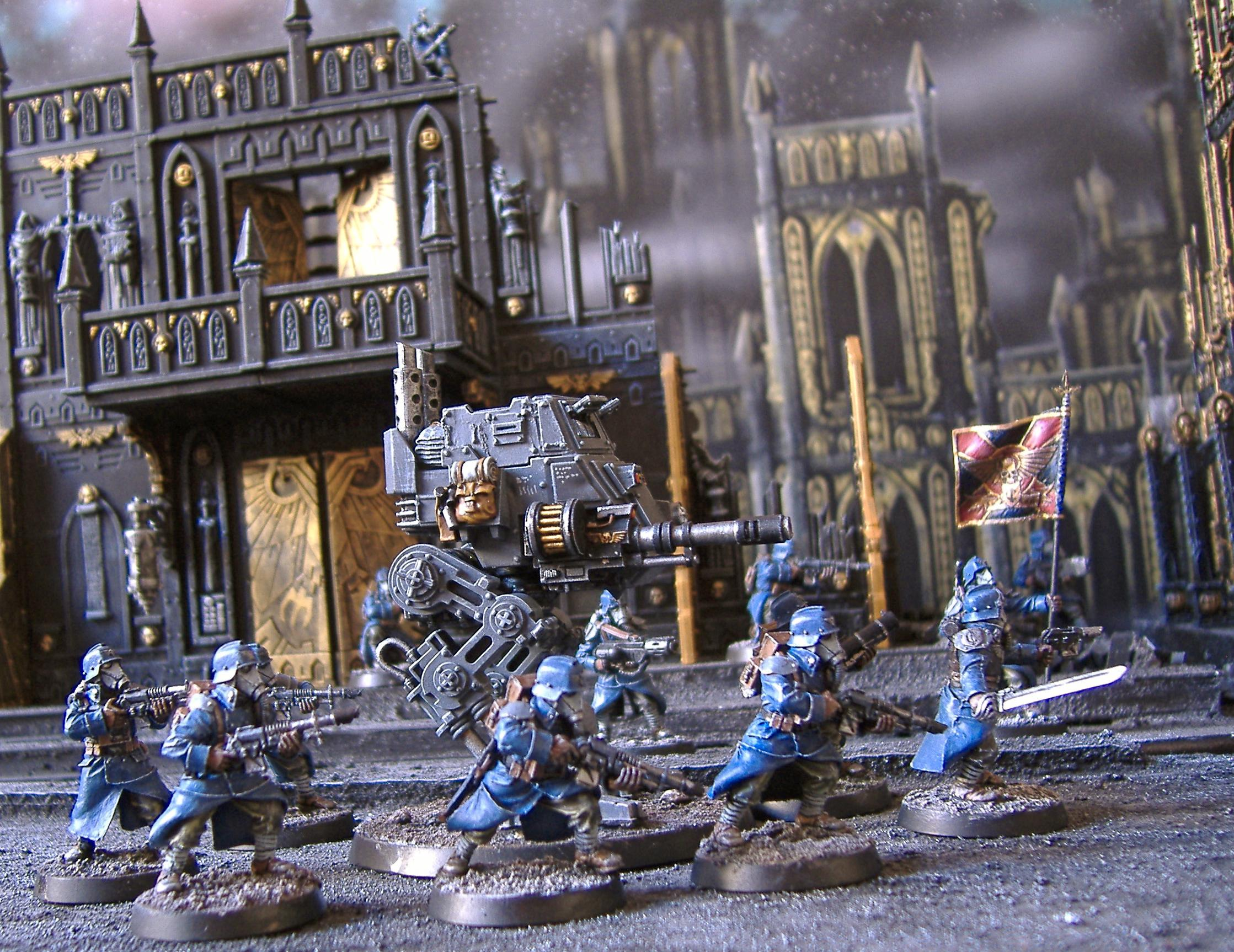 Death, Death Korps of Krieg, Forge World, Guard, Imperial, Imperial Guard, Korps, Sentinel, Terrain, Terrains, Warhammer 40,000