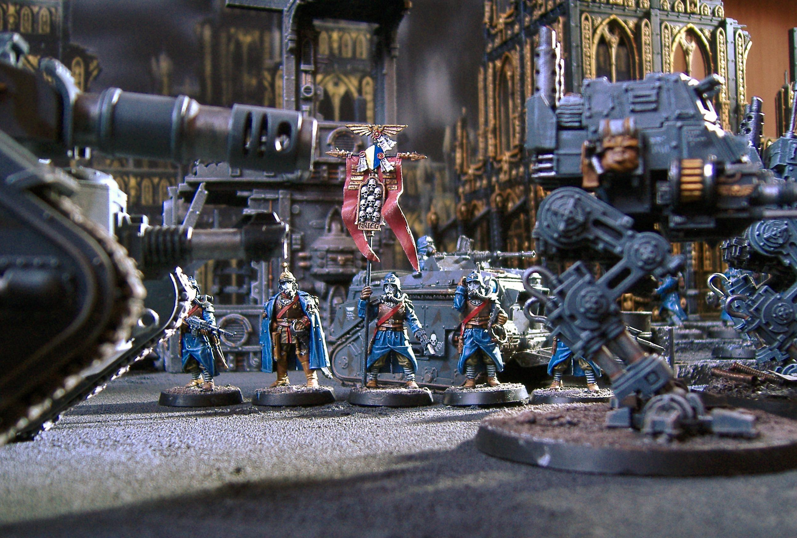 Death, Death Korps of Krieg, Forge World, Guard, Imperial, Imperial Guard, Korps, Leman Russ, Sentinel, Tank, Terrain, Terrains, Warhammer 40,000
