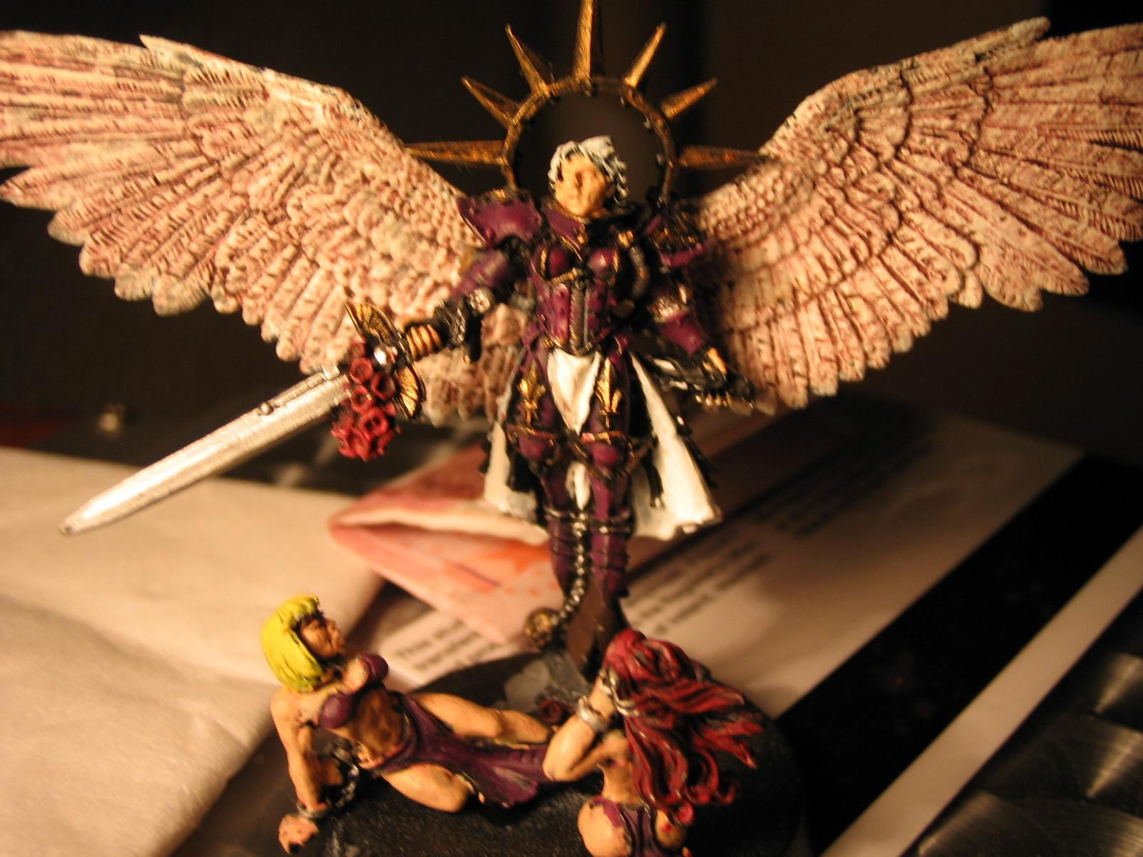 Daemon Prince, Sisters Of Battle, Slaanesh