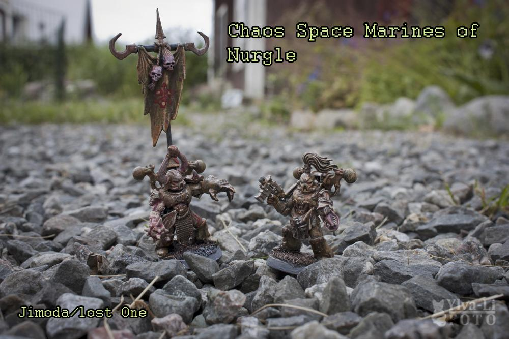 Chaos, Chaos Space Marines, Daemons, Nurgle, Warhammer 40,000