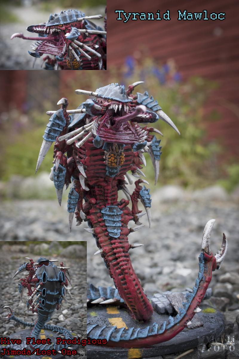 Behemoth, Mawloc, Tyranids, Warhammer 40,000