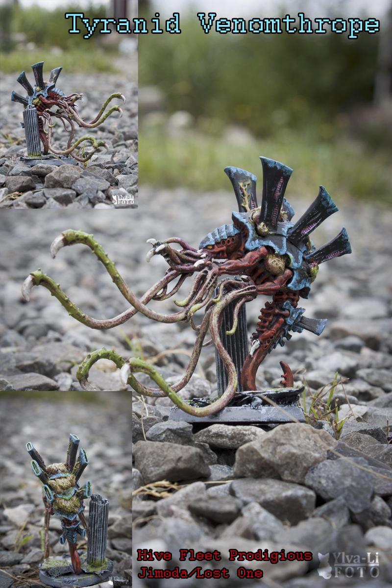 Behemoth, Tyranids, Venomthrope, Warhammer 40,000